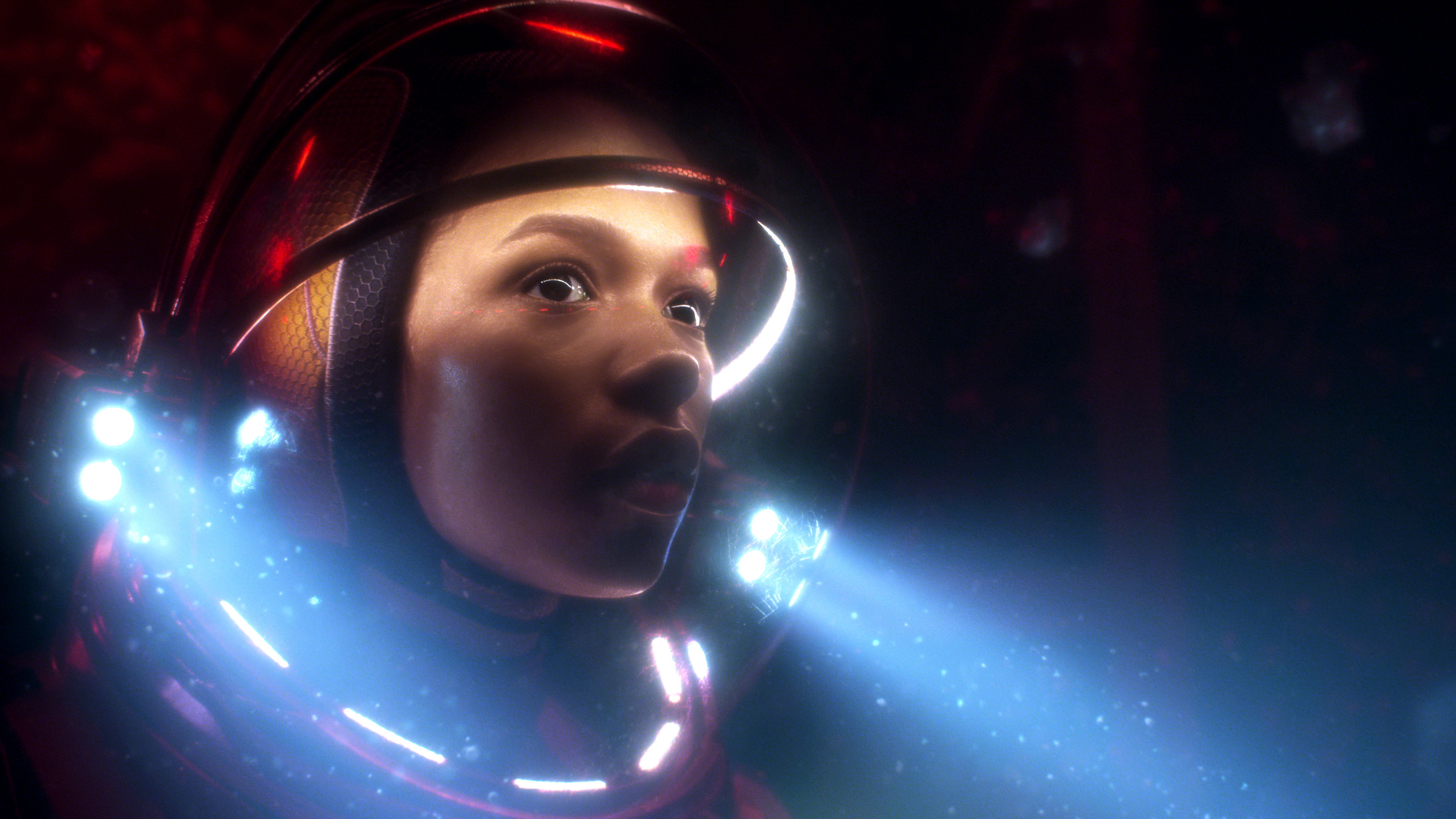 Taylor Russell As Judy In Lost In Space 4k Wallpapers Hd Wallpapers