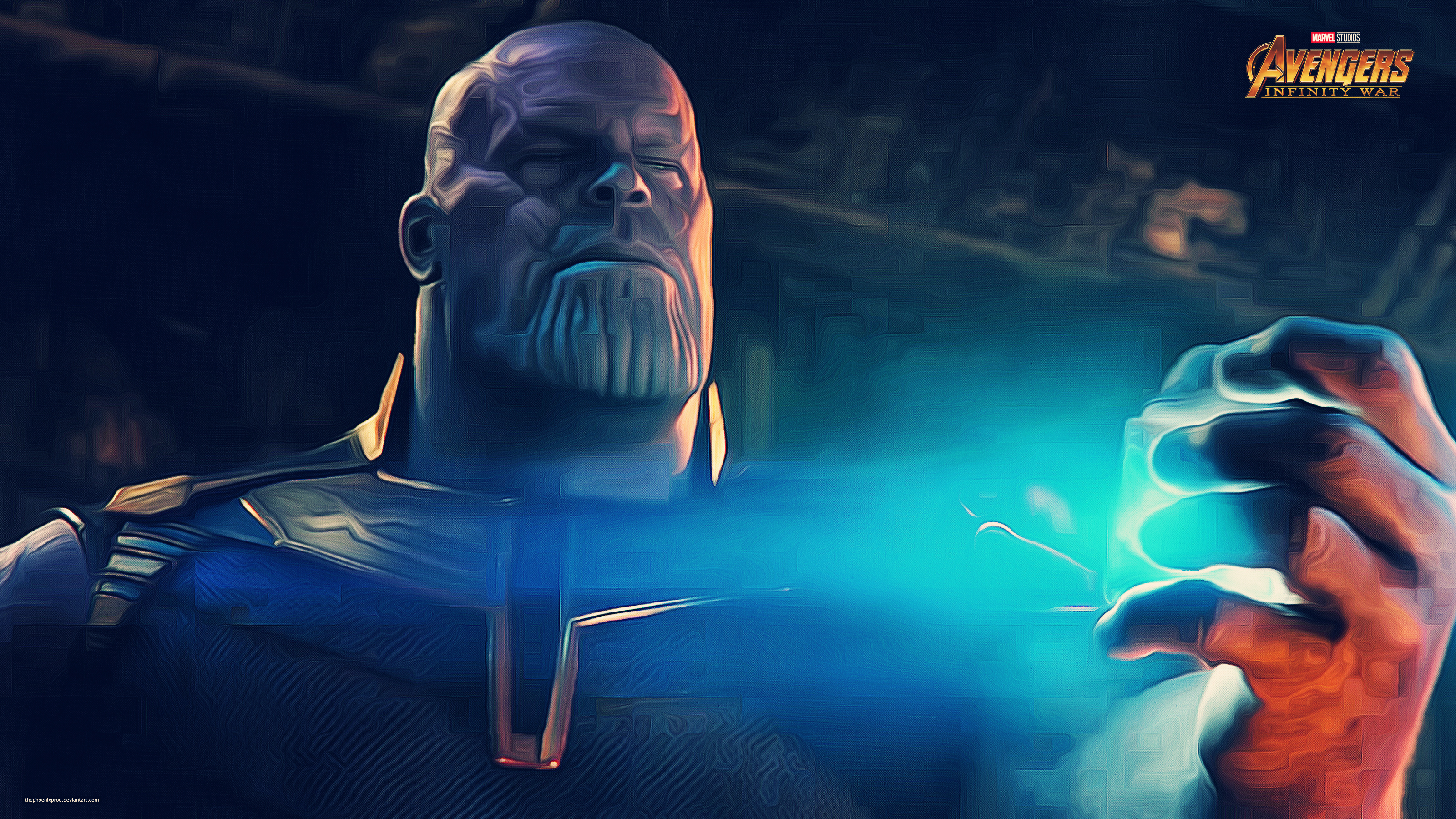 Thanos In Avengers Infinity War Wallpapers Hd Wallpapers