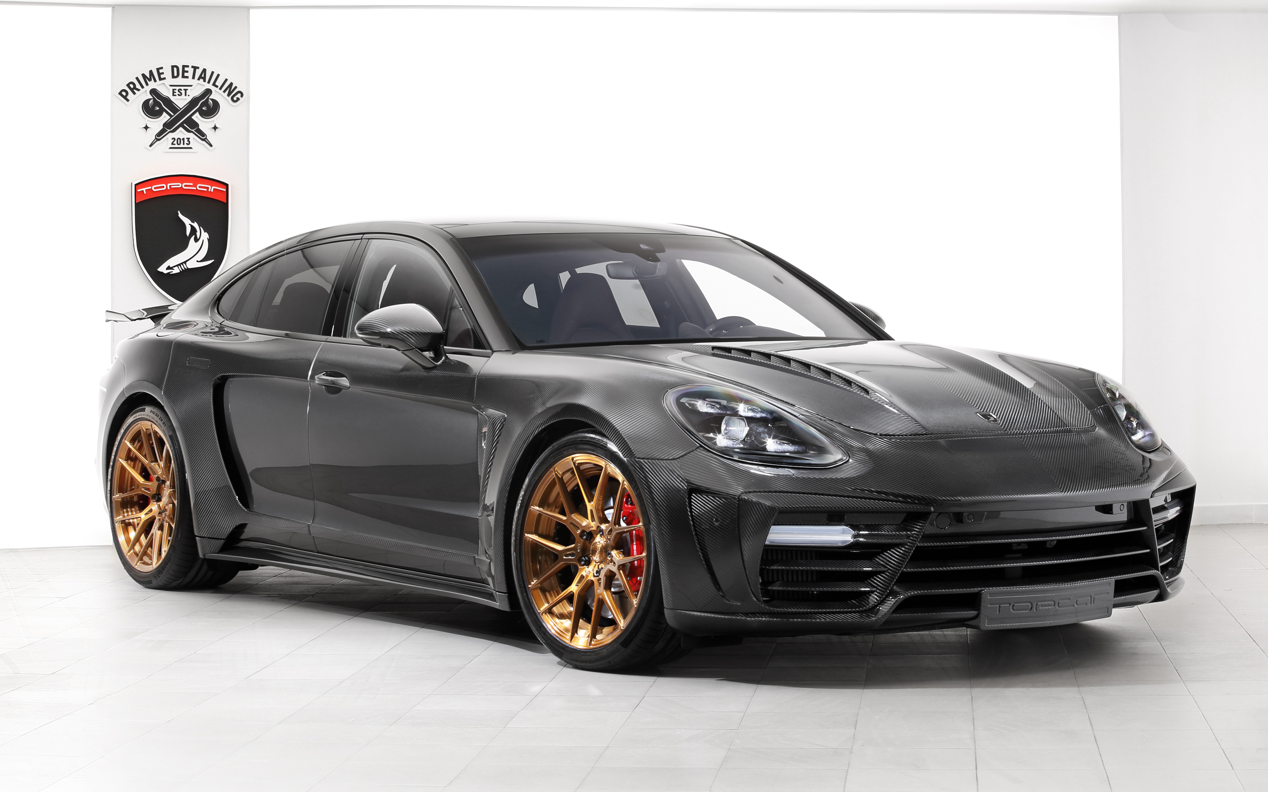 TopCar Porsche Panamera Stingray GTR Carbon Edition 2018 4K Wallpapers