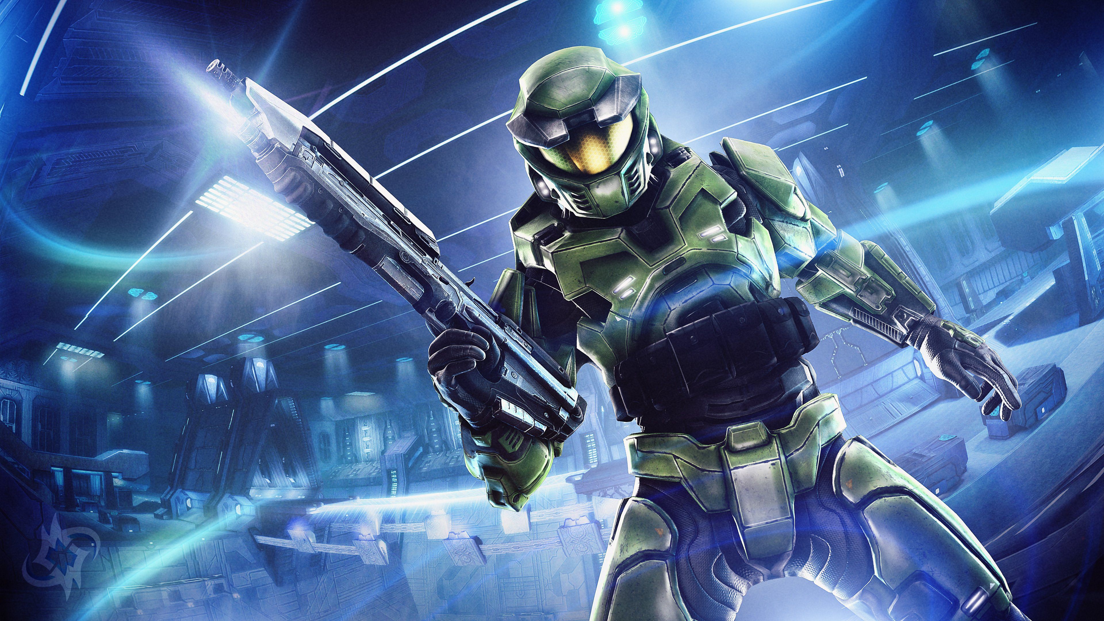 Cortana Halo Soldier Wallpapers Hd Wallpapers