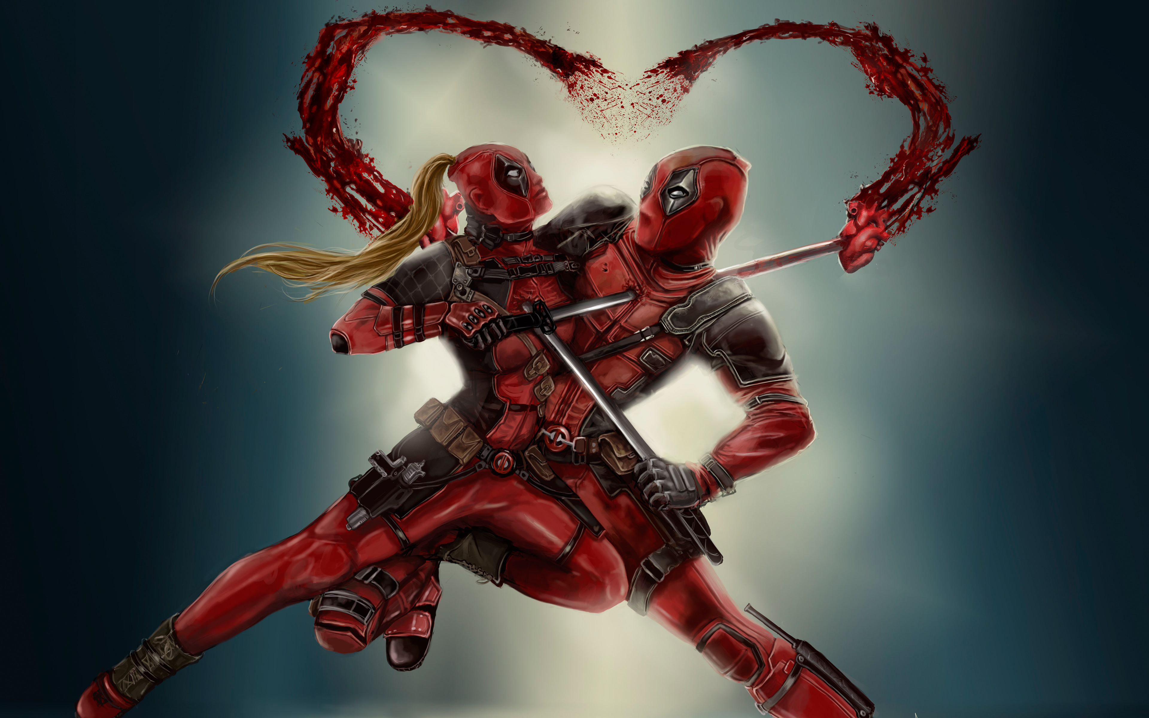 Deadpool Couple 4k Wallpapers Hd Wallpapers