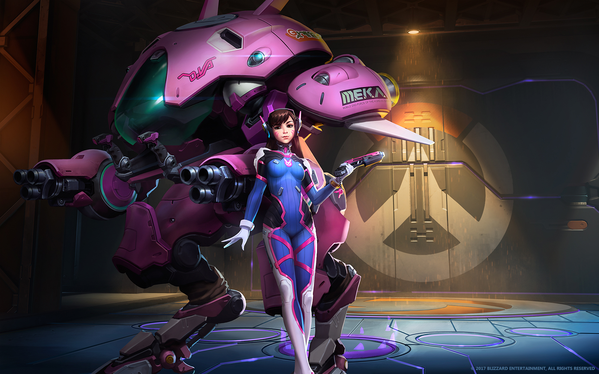 Dva The Meka Pilot Overwatch Wallpapers Hd Wallpapers
