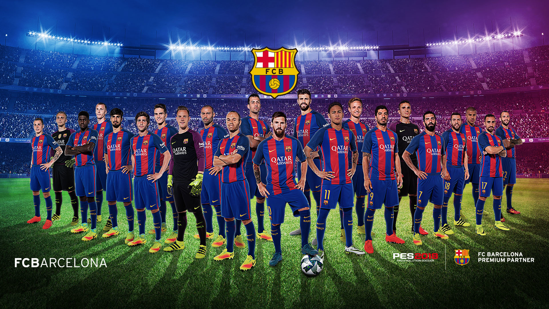 Download Fc Barcelona Wallpaper 4K Iphone