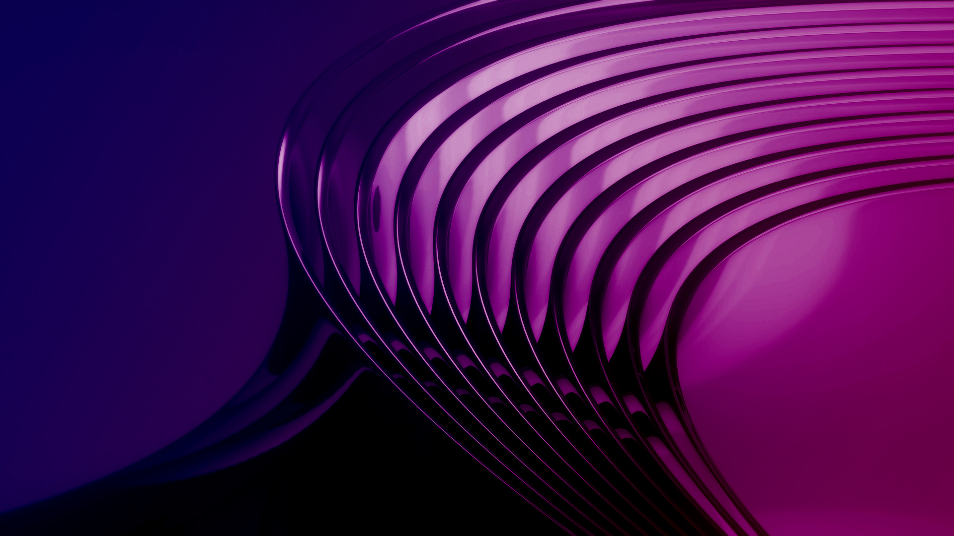 Purple Curves Wallpapers