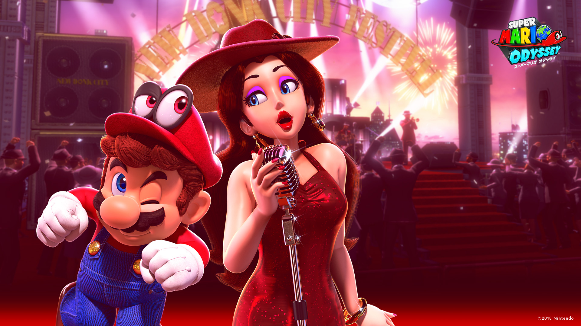 Super Mario Odyssey Happy Birthday Wallpapers Hd Wallpapers