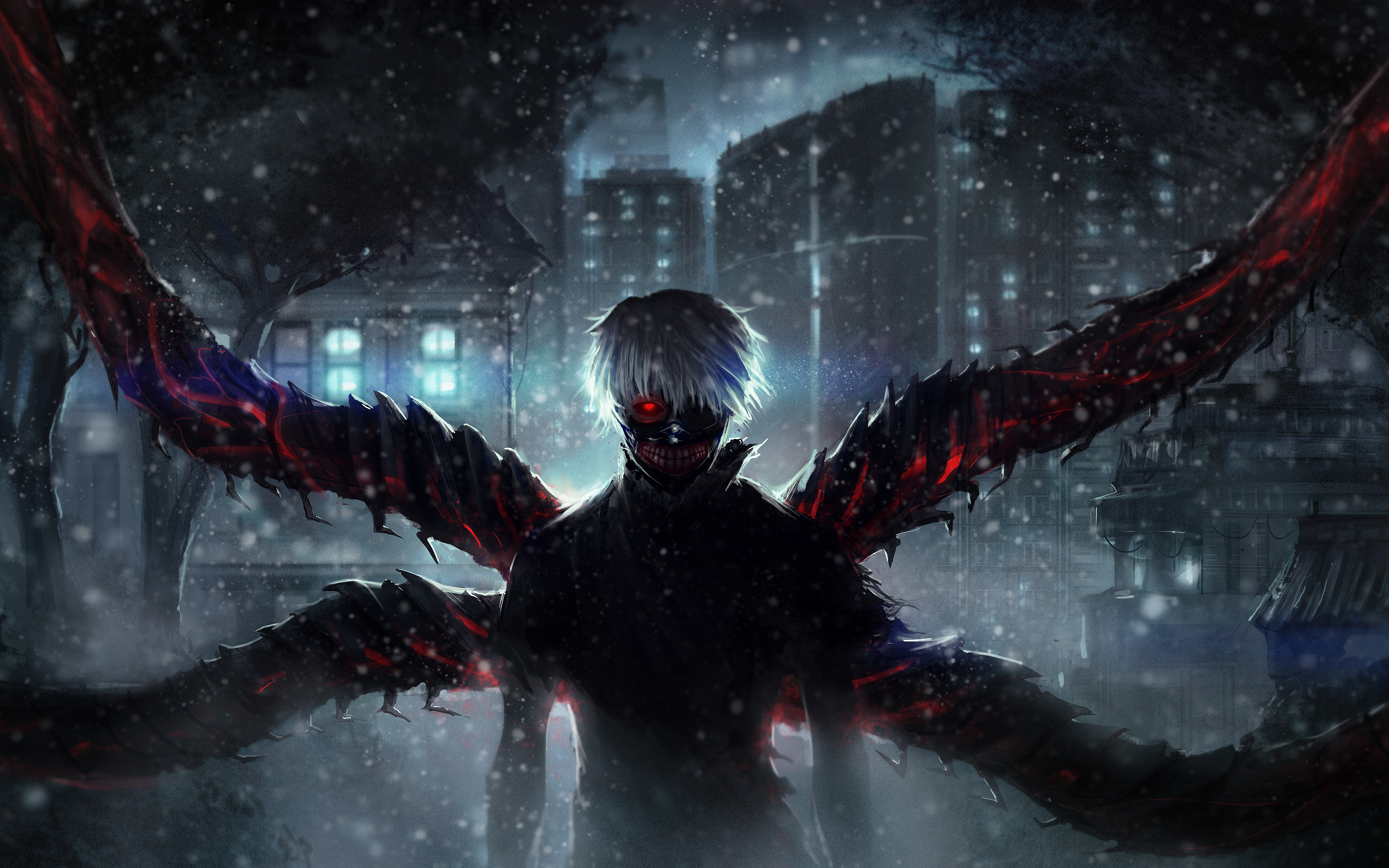 Tokyo ghoul ken kaneki 5k wallpapers hd wallpapers - 5k anime wallpaper ...