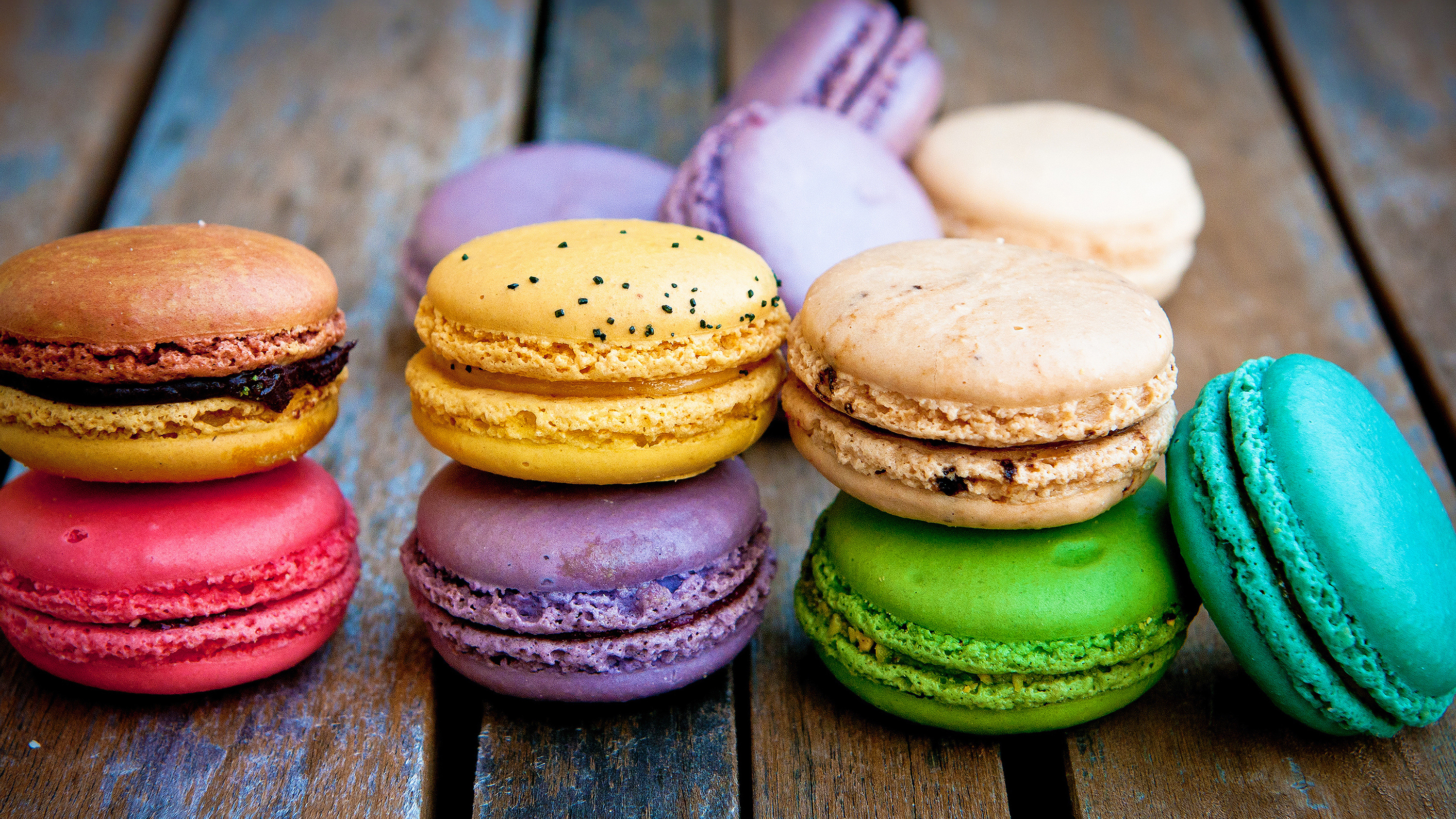Colorful Macarons Wallpapers Hd Wallpapers