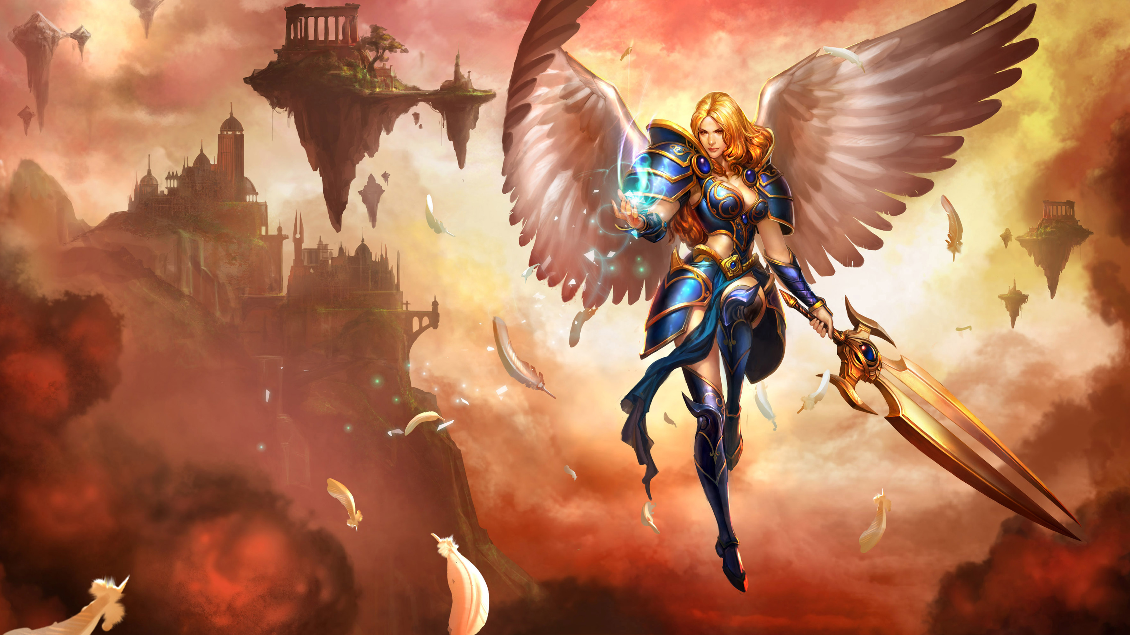 Kayle League Of Legends Wallpapers Hd Wallpapers