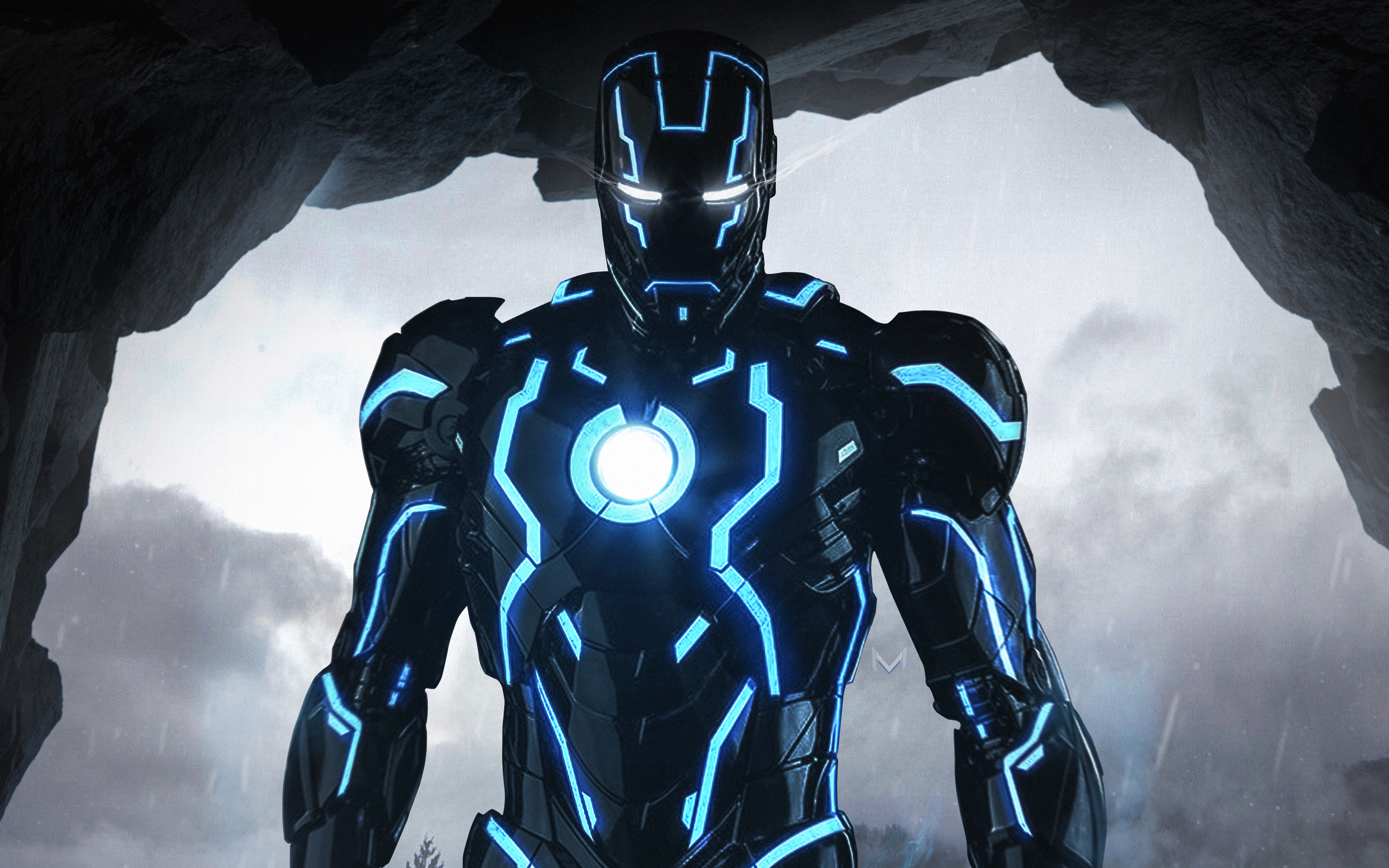 Neon Iron Man 4k Wallpapers Hd Wallpapers