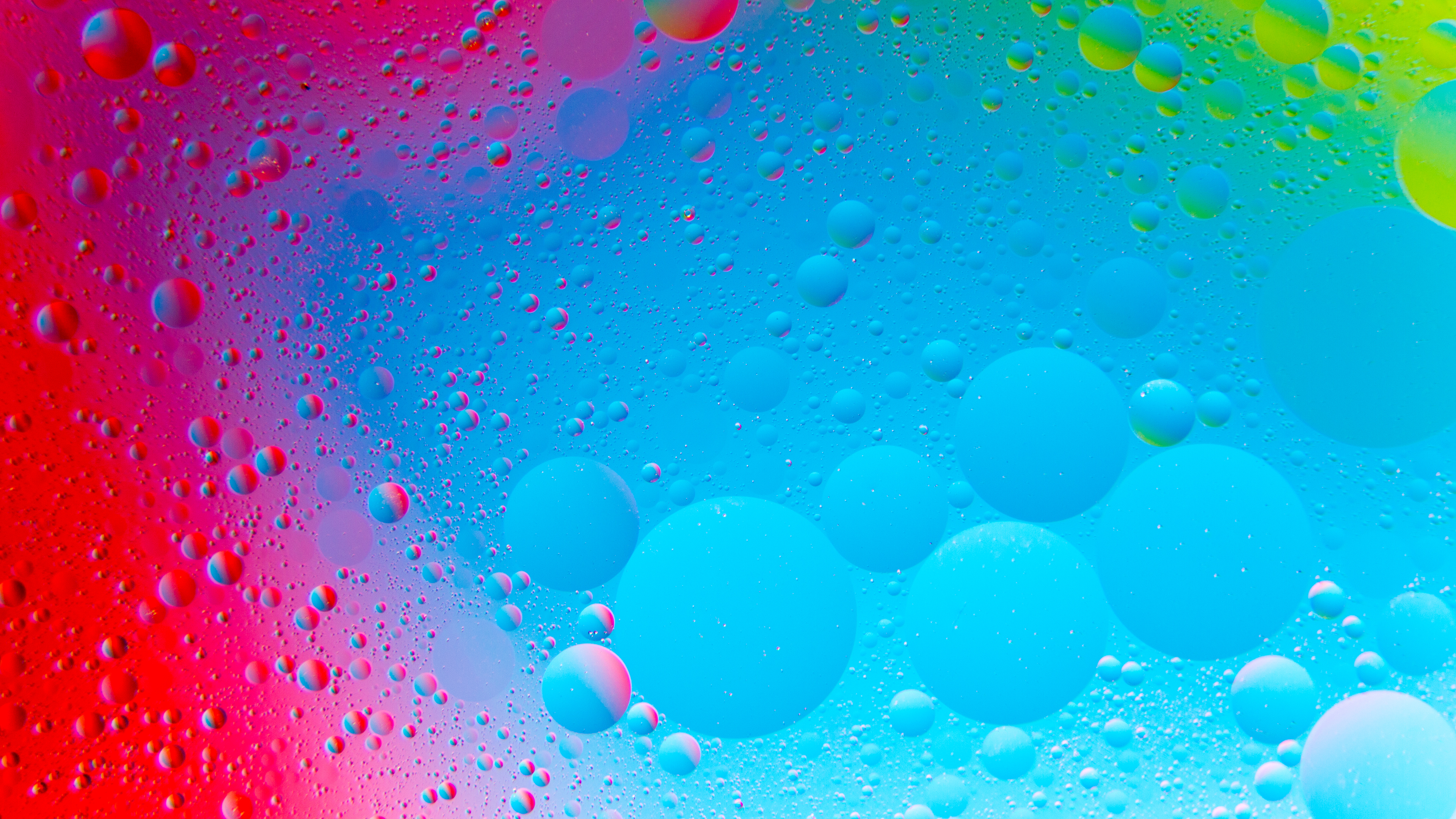 Vibrant Abstract Bubbles 4K Wallpapers | HD Wallpapers