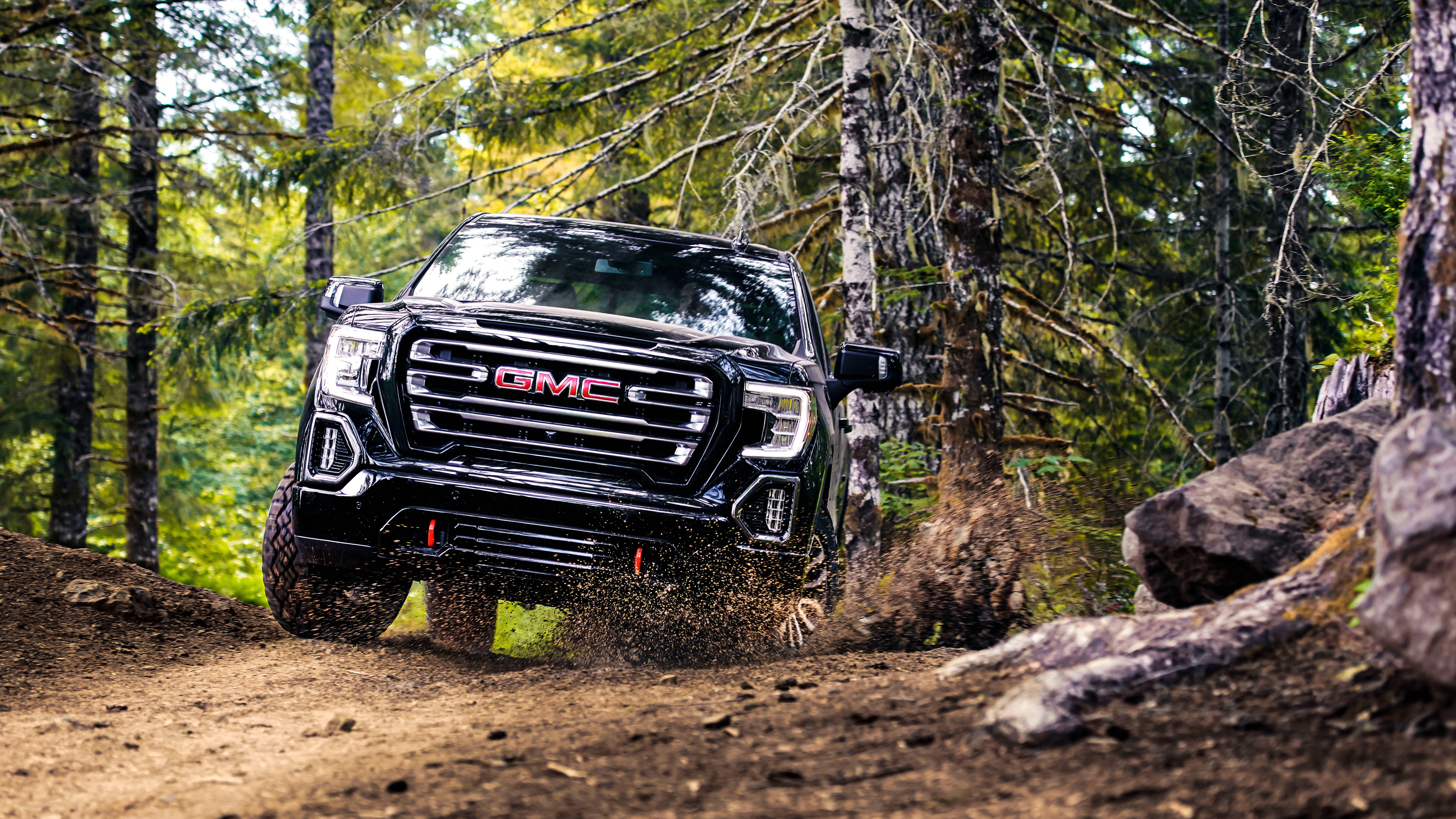 2019 GMC Sierra AT4 Crew Cab 4K Wallpapers | HD Wallpapers