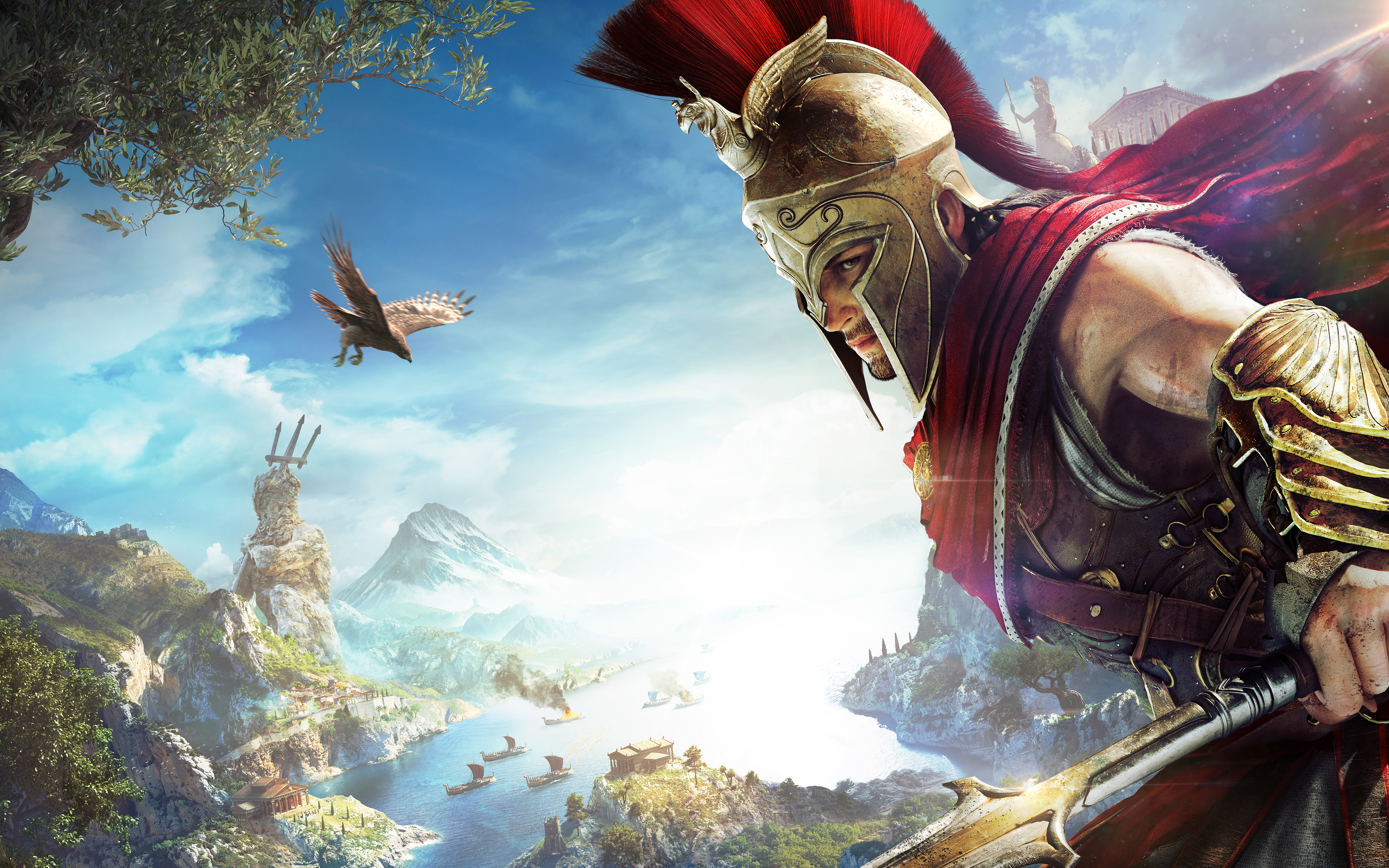 Assassins Creed Odyssey Alexios 4K Wallpapers | HD Wallpapers