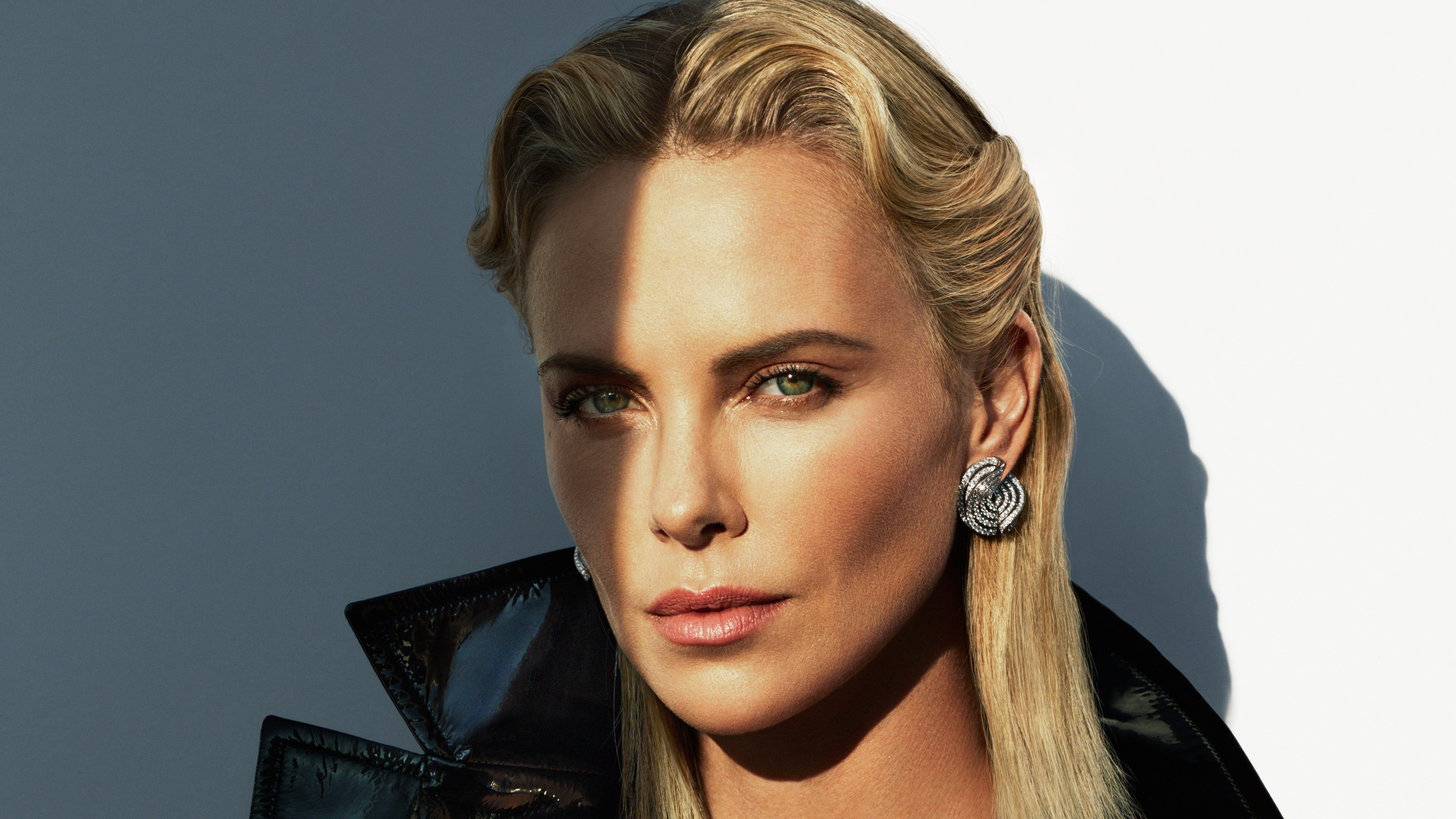 Charlize Theron HD 5K Wallpapers