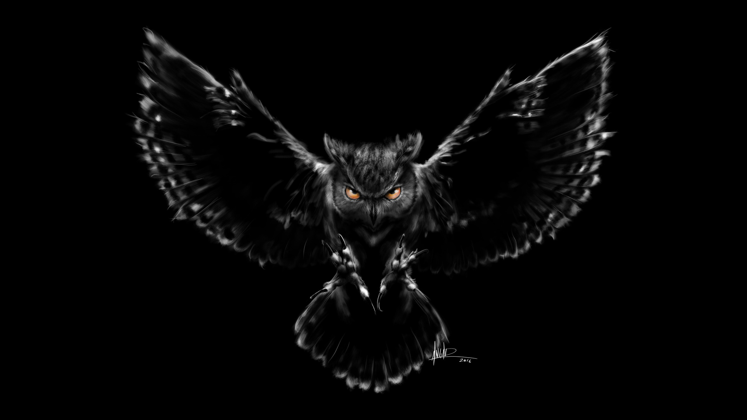 scary owl wallpapers | hd wallpapers