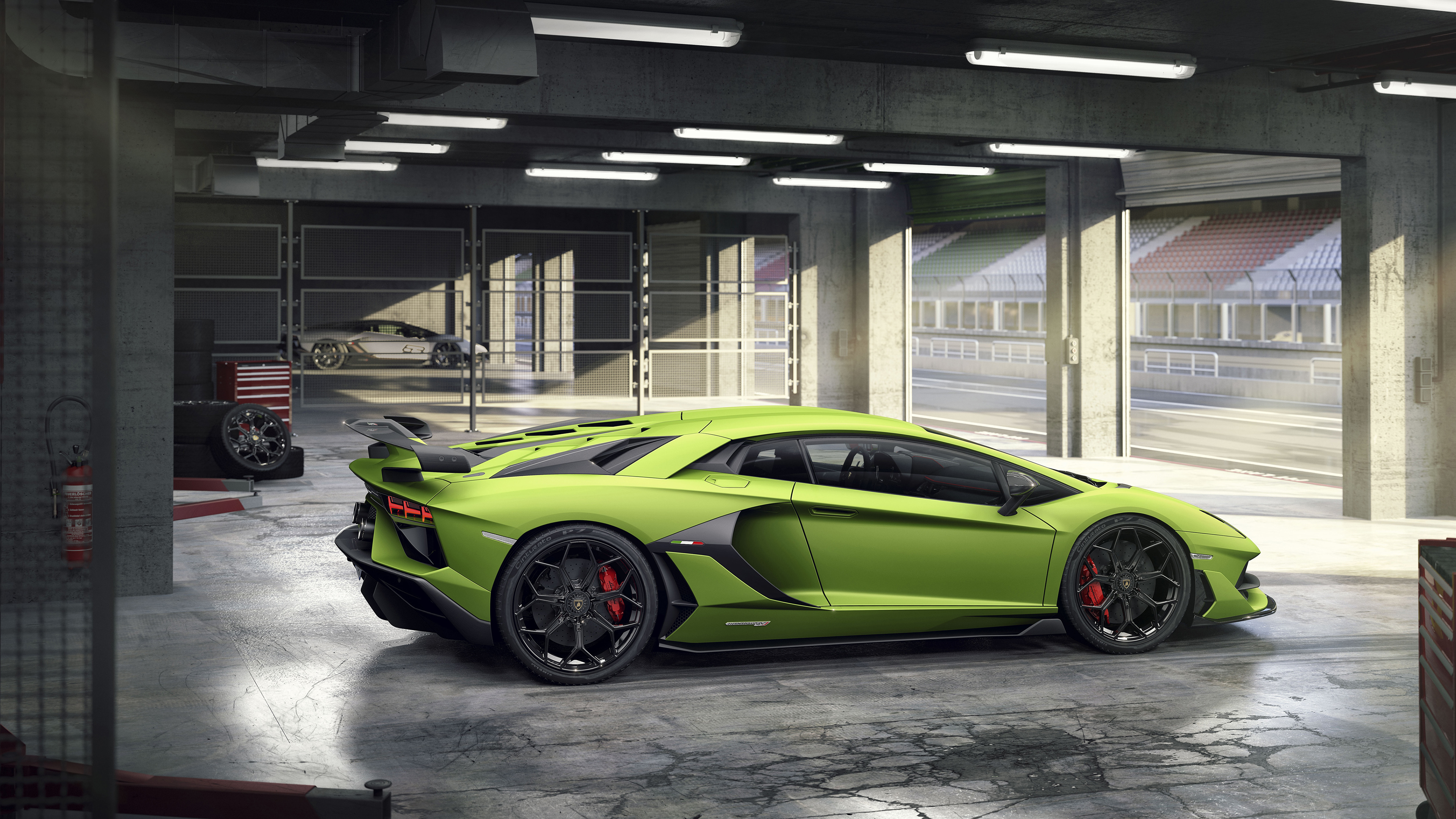Lamborghini Aventador Svj 2018 4k Wallpapers Hd Wallpapers
