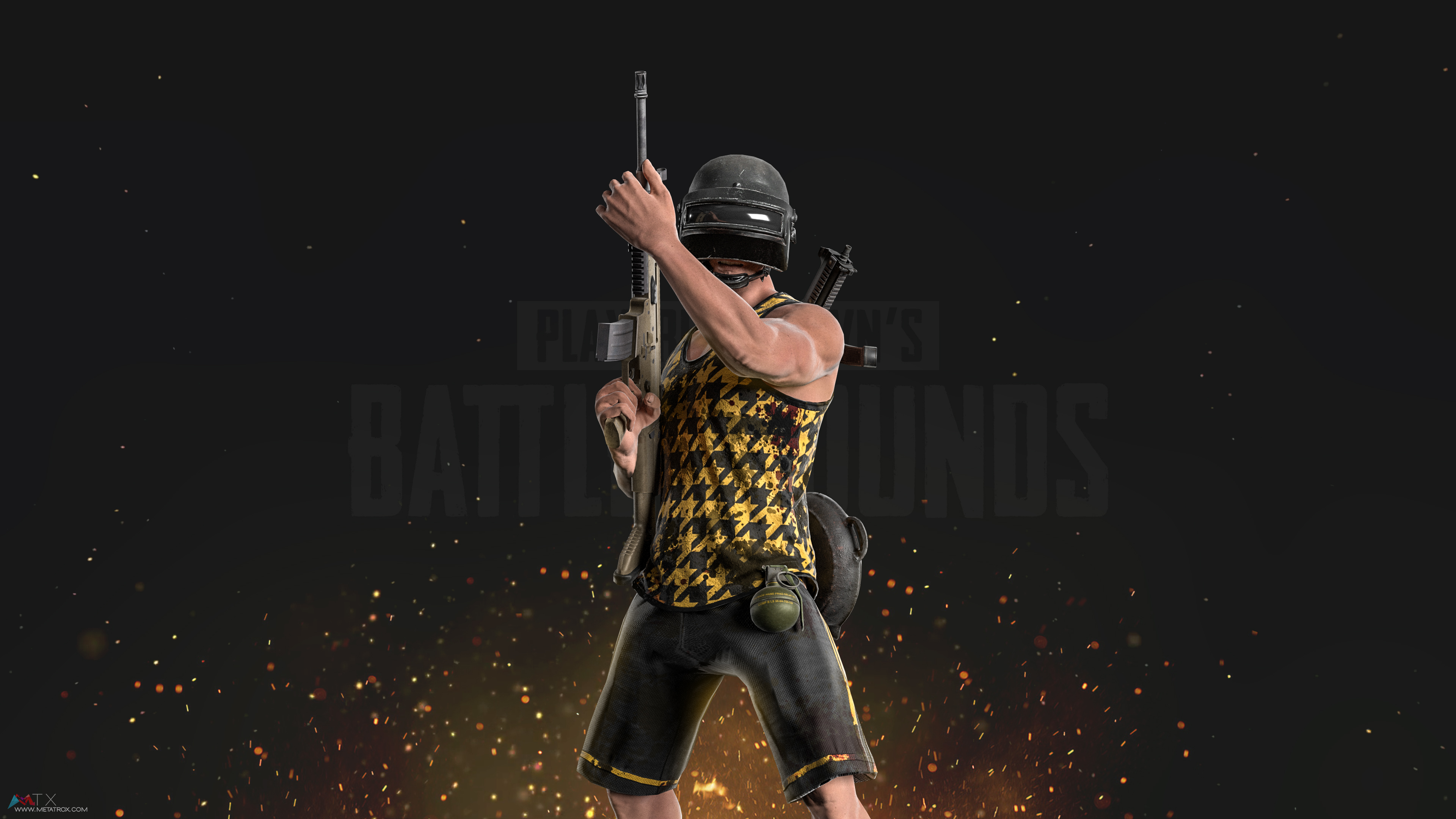 PUBG PlayerUnknown's Battlegrounds 4K Wallpapers