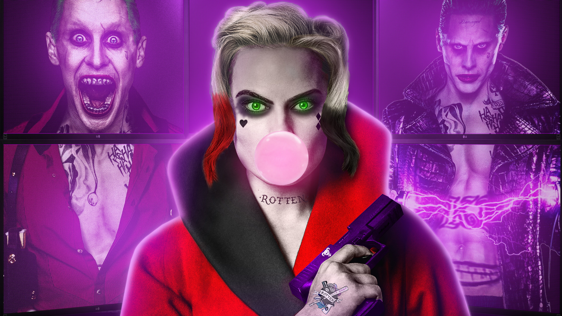 Harley Quinn Joker Wallpapers | HD