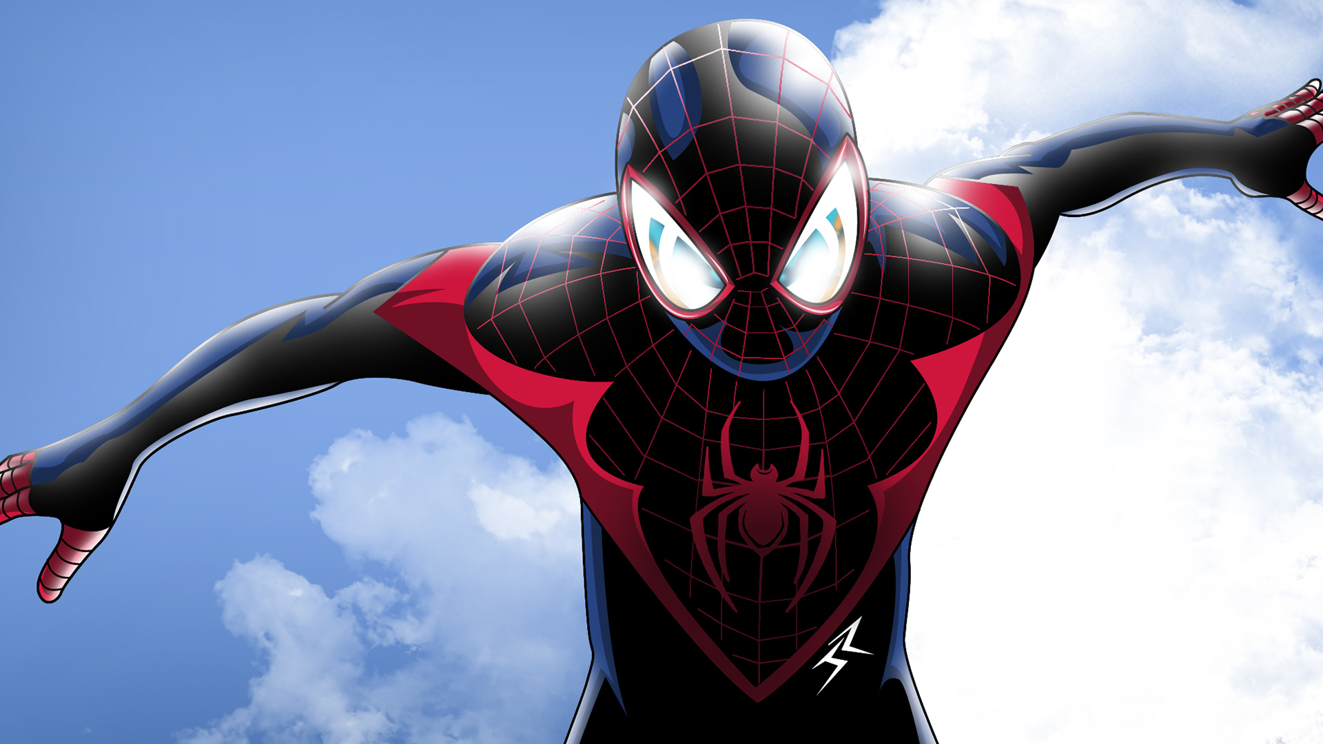 Ultimate Spider Man Aka Miles Morales Wallpapers