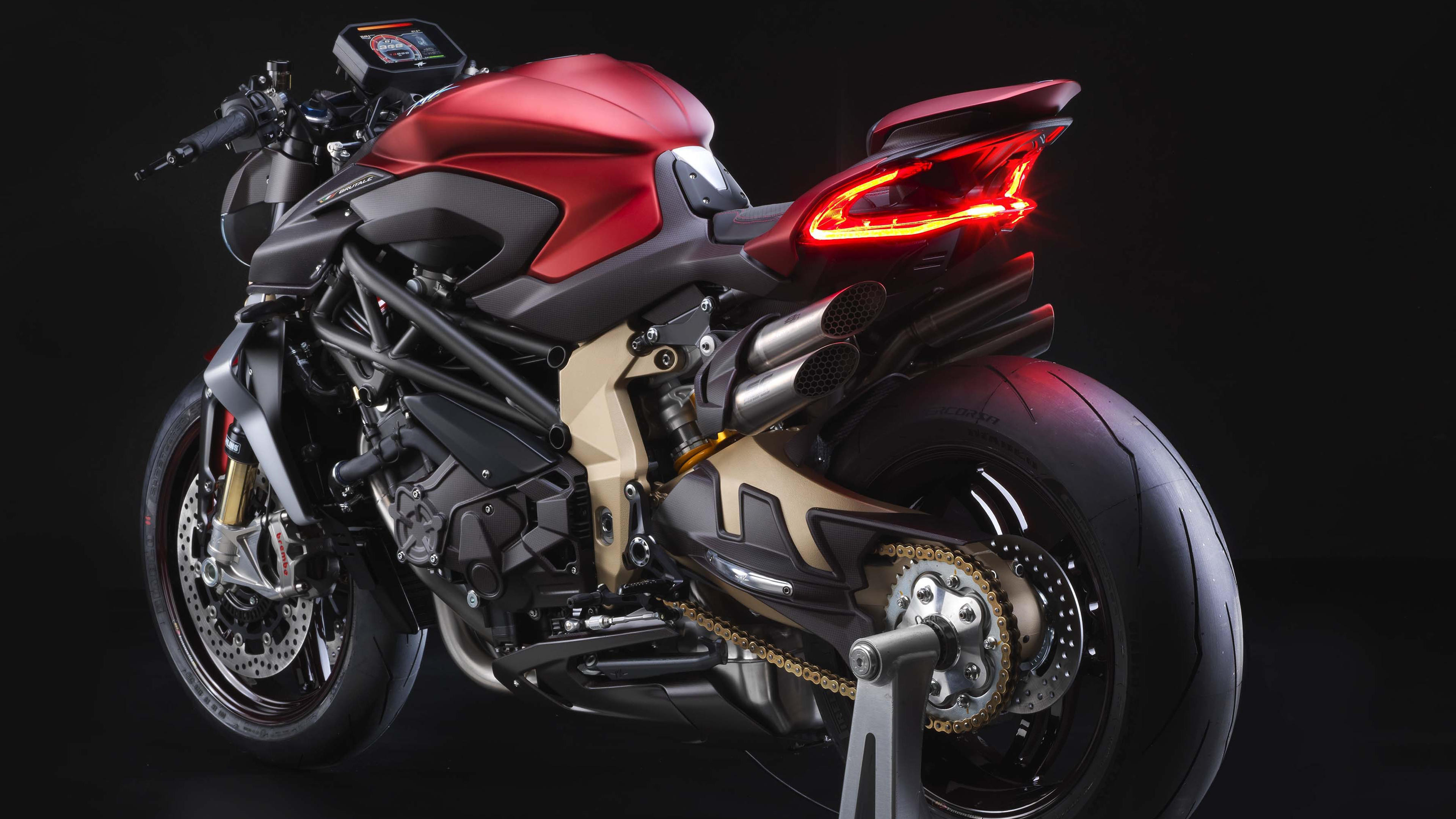 2019 MV Agusta Brutale 1000 Serie Oro 4K Wallpapers