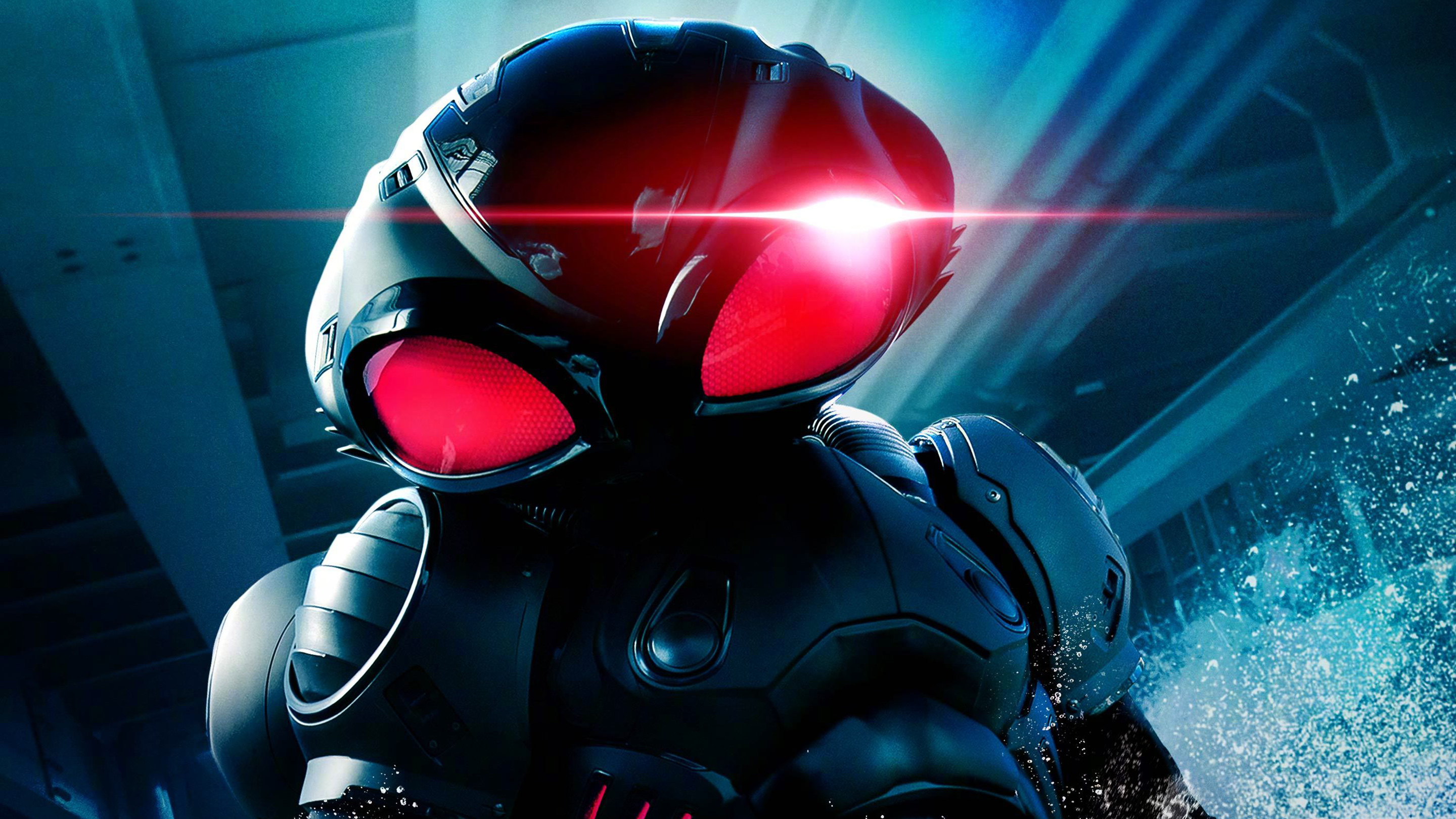 Black Manta In Aquaman Wallpapers Hd Wallpapers