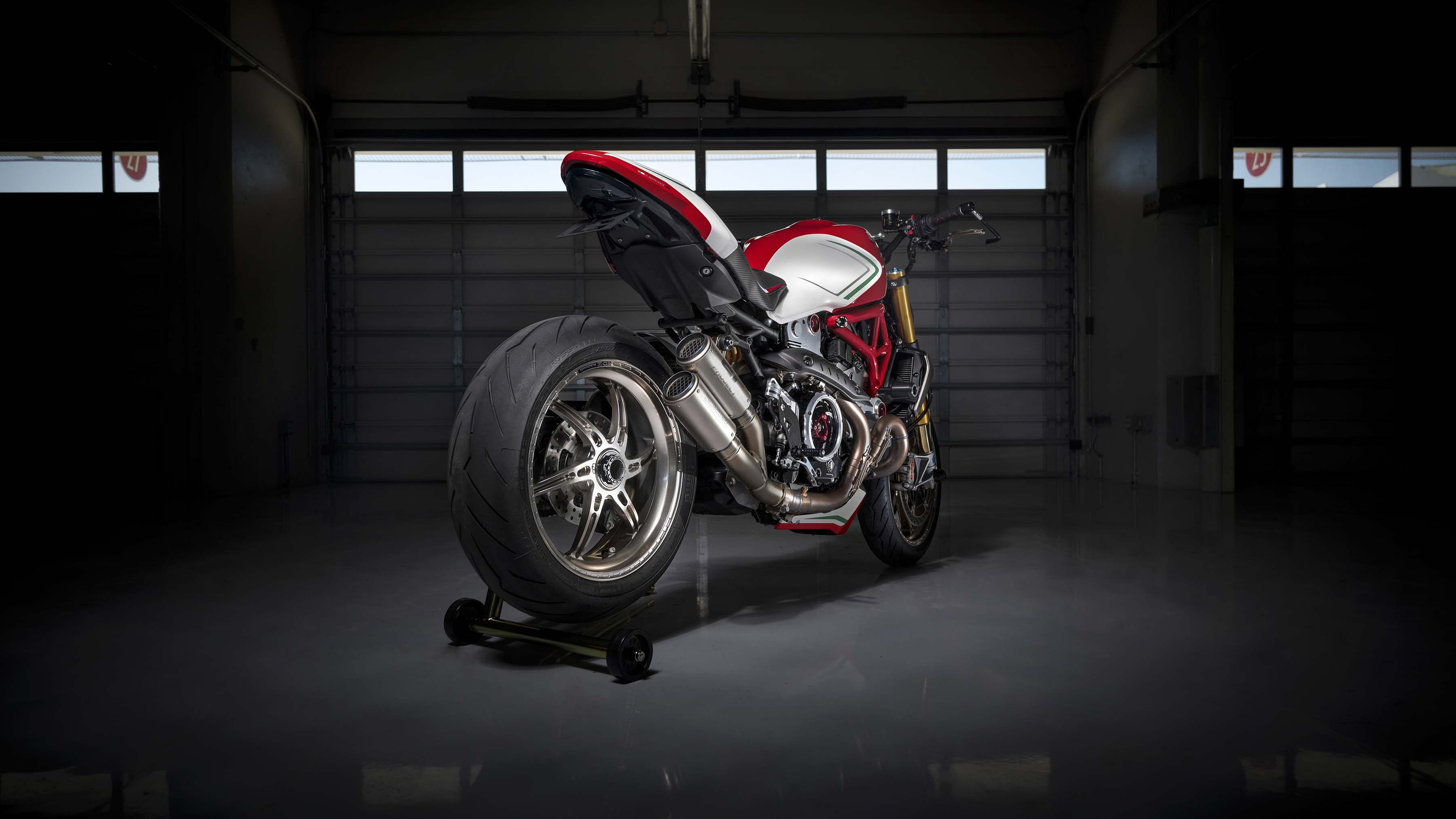 Ducati Monster 1200 Tricolore By Motovation 2019 4K Wallpapers