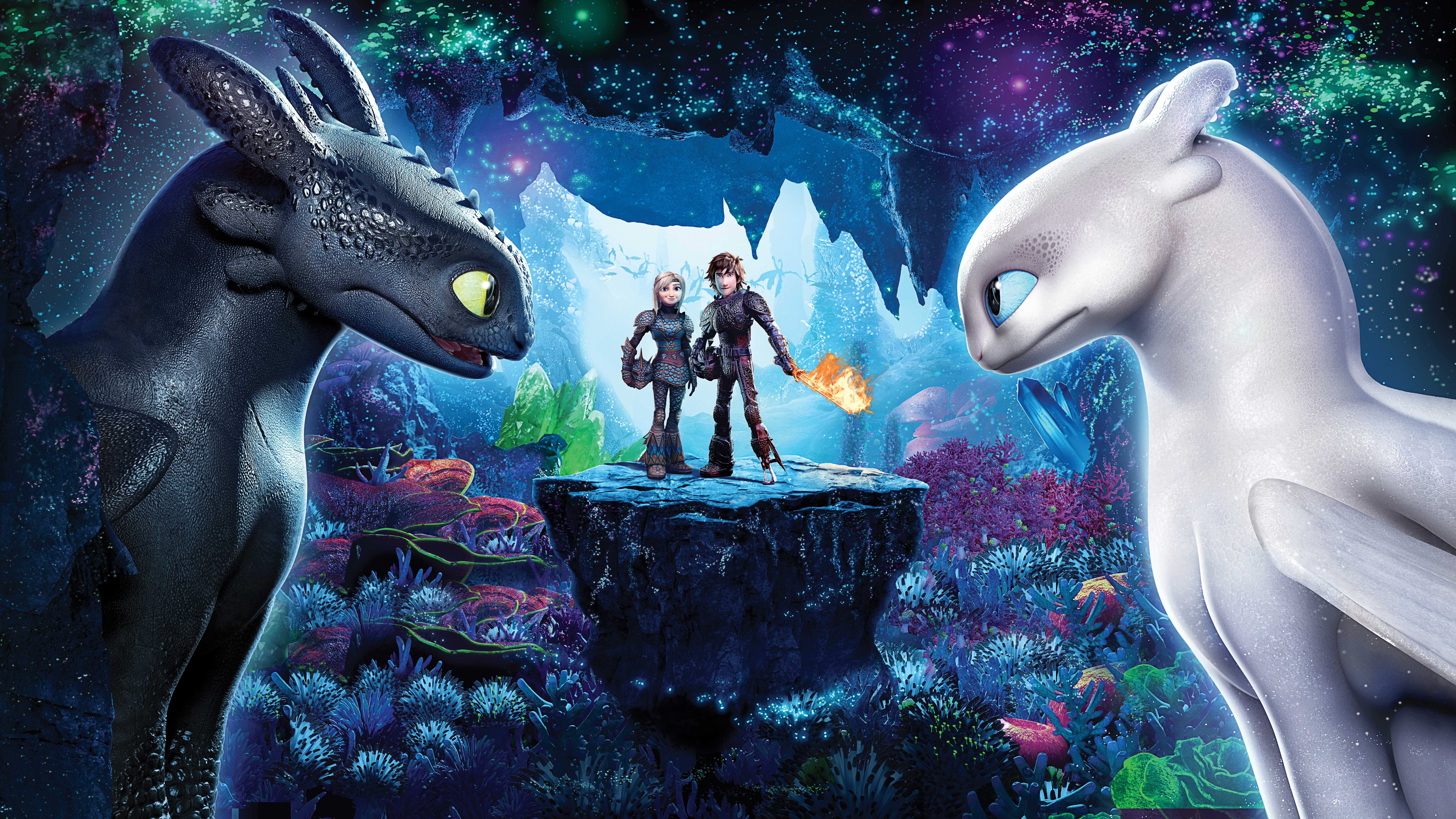How to train your dragon 3 the hidden world 4k 8k - The world is yours wallpaper ...
