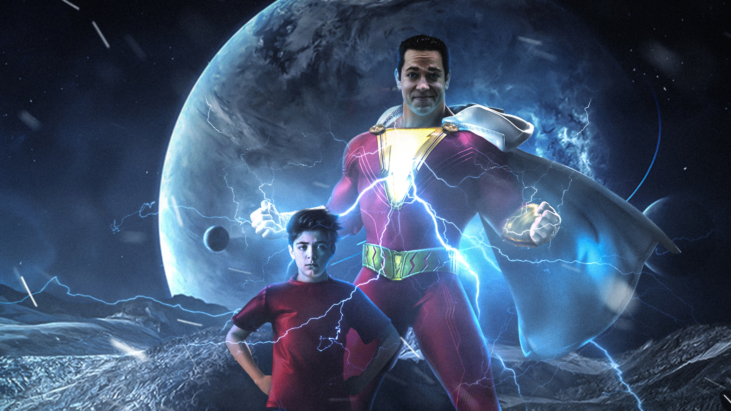 Shazam Movie Wallpapers Hd Wallpapers