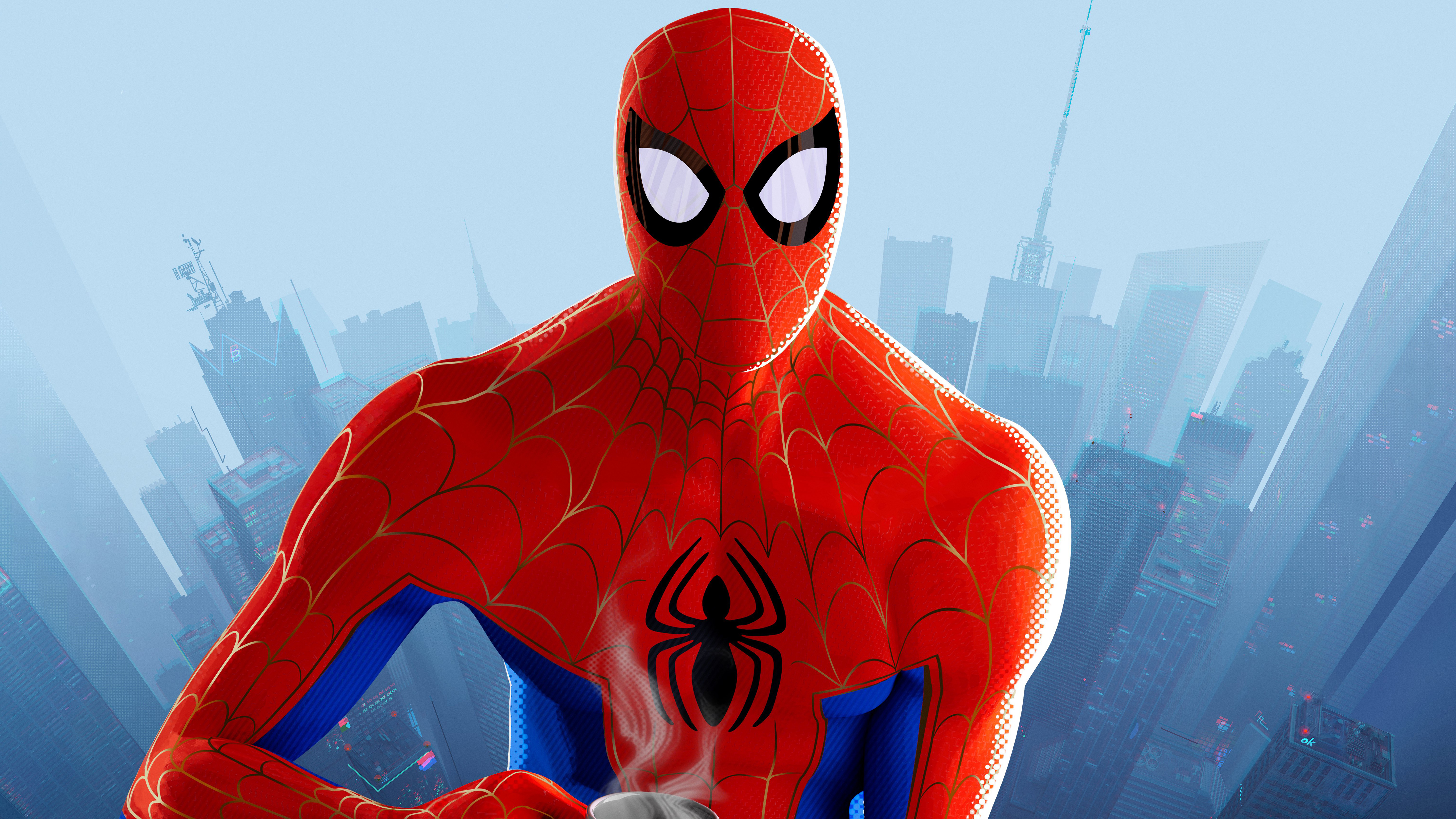 Spider Man Into The Spider Verse 5k Wallpapers Hd Wallpapers