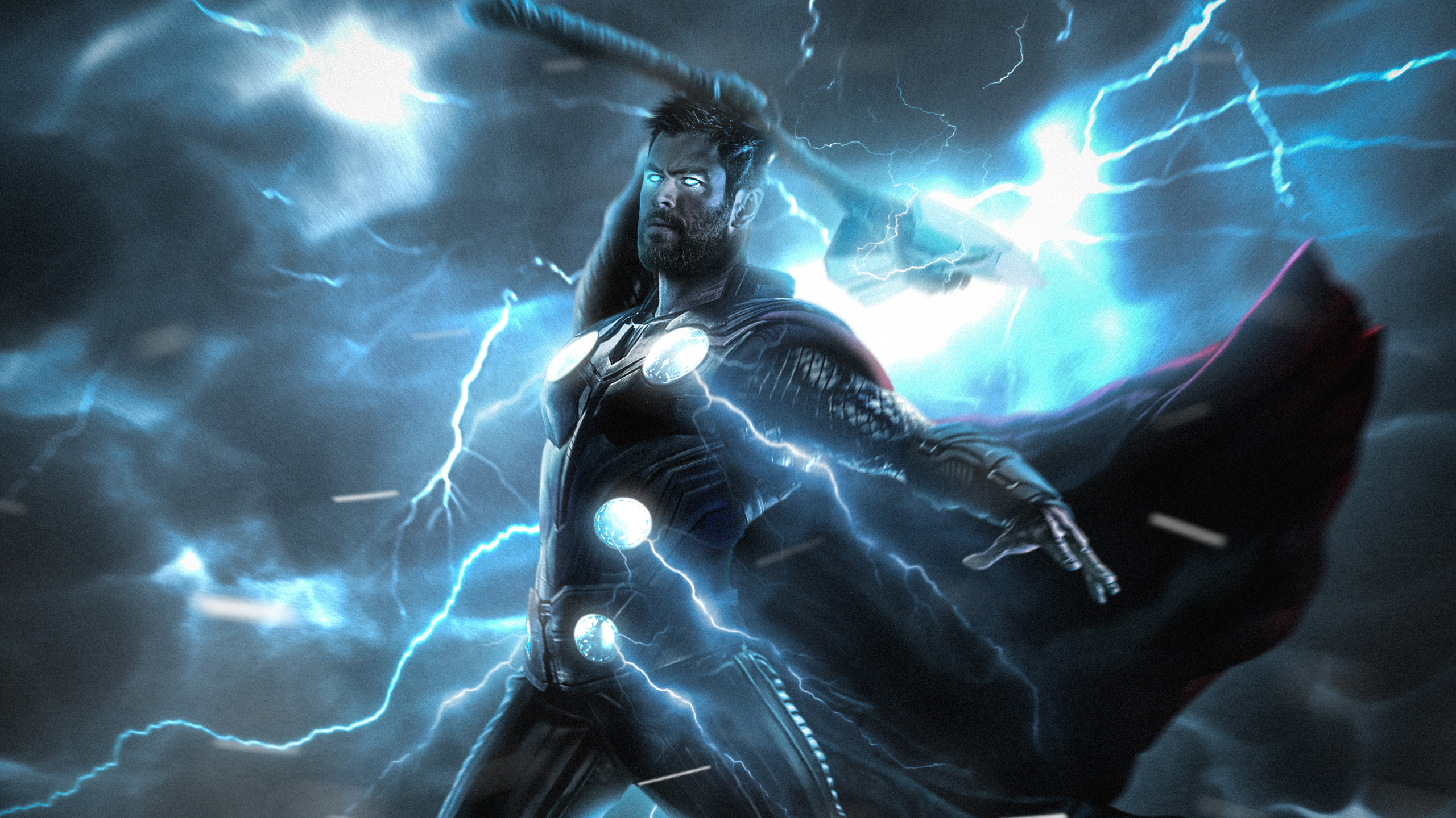 Thor Lightning Strike Wallpapers Hd Wallpapers