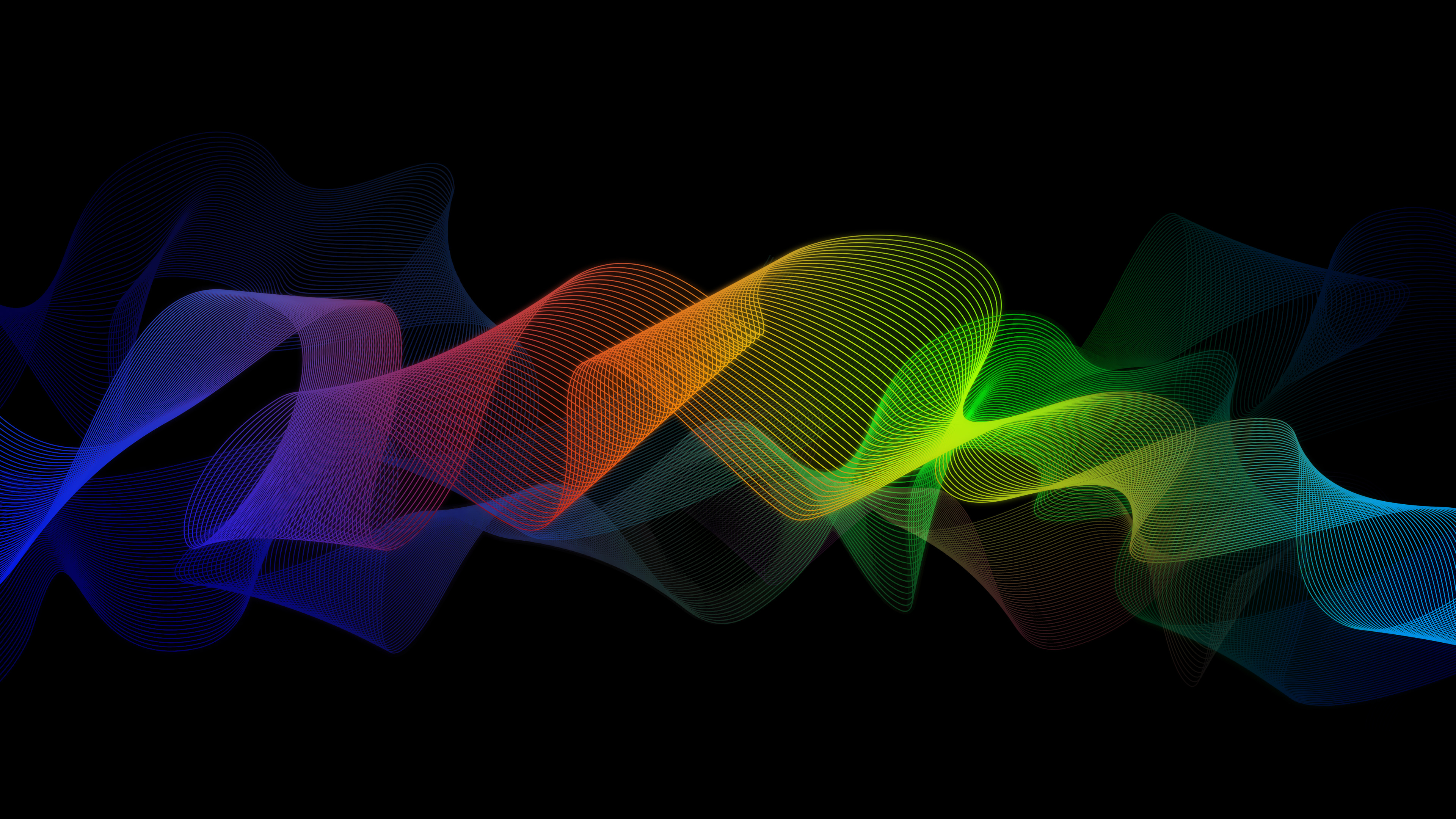 Colorful Abstract Ribbon 4K Wallpapers | HD Wallpapers