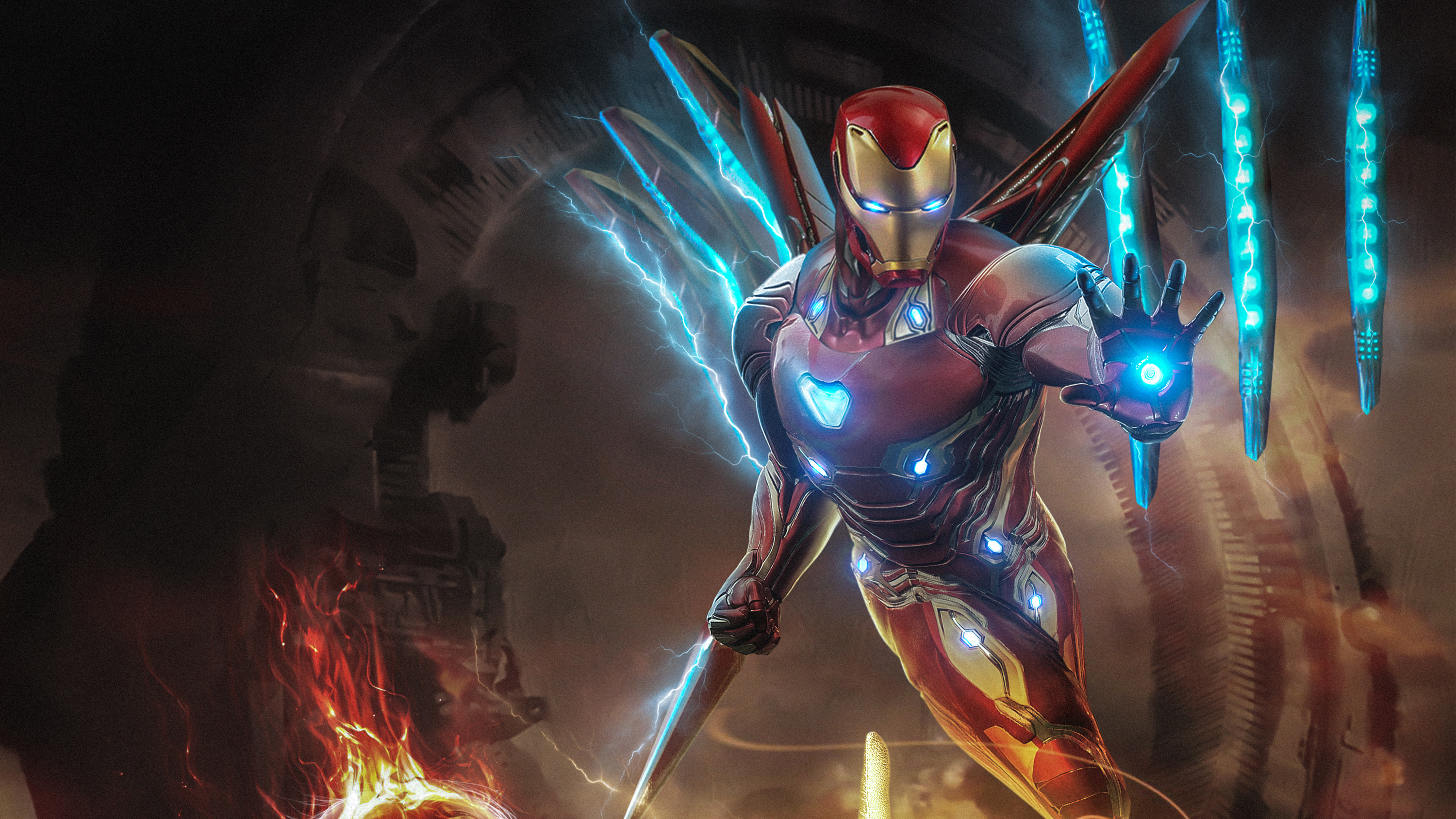 Iron Man Infinity War Armor Wallpapers Hd Wallpapers