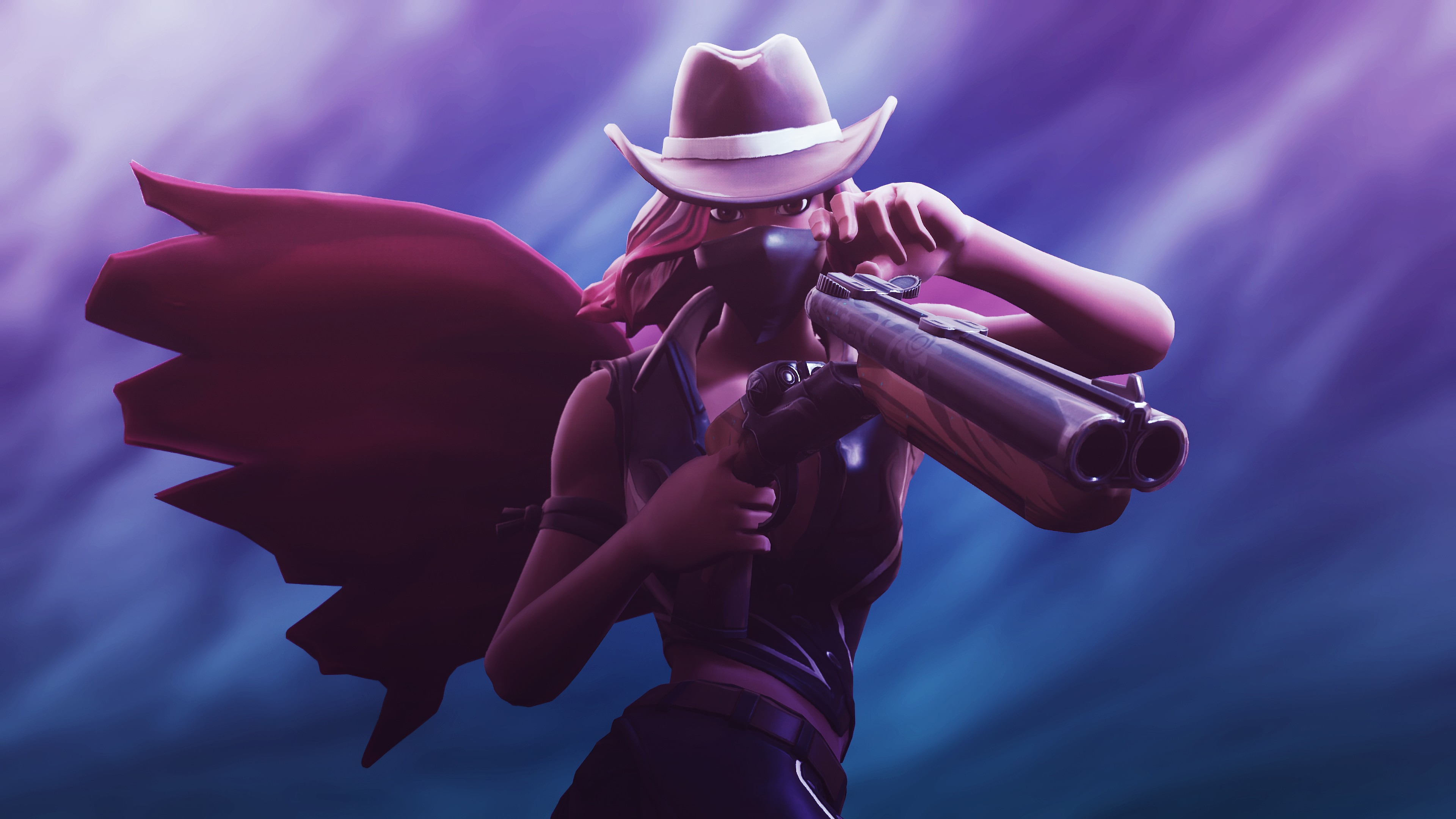 calamity fortnite skin 4k wallpapers - fortnite iphone skin