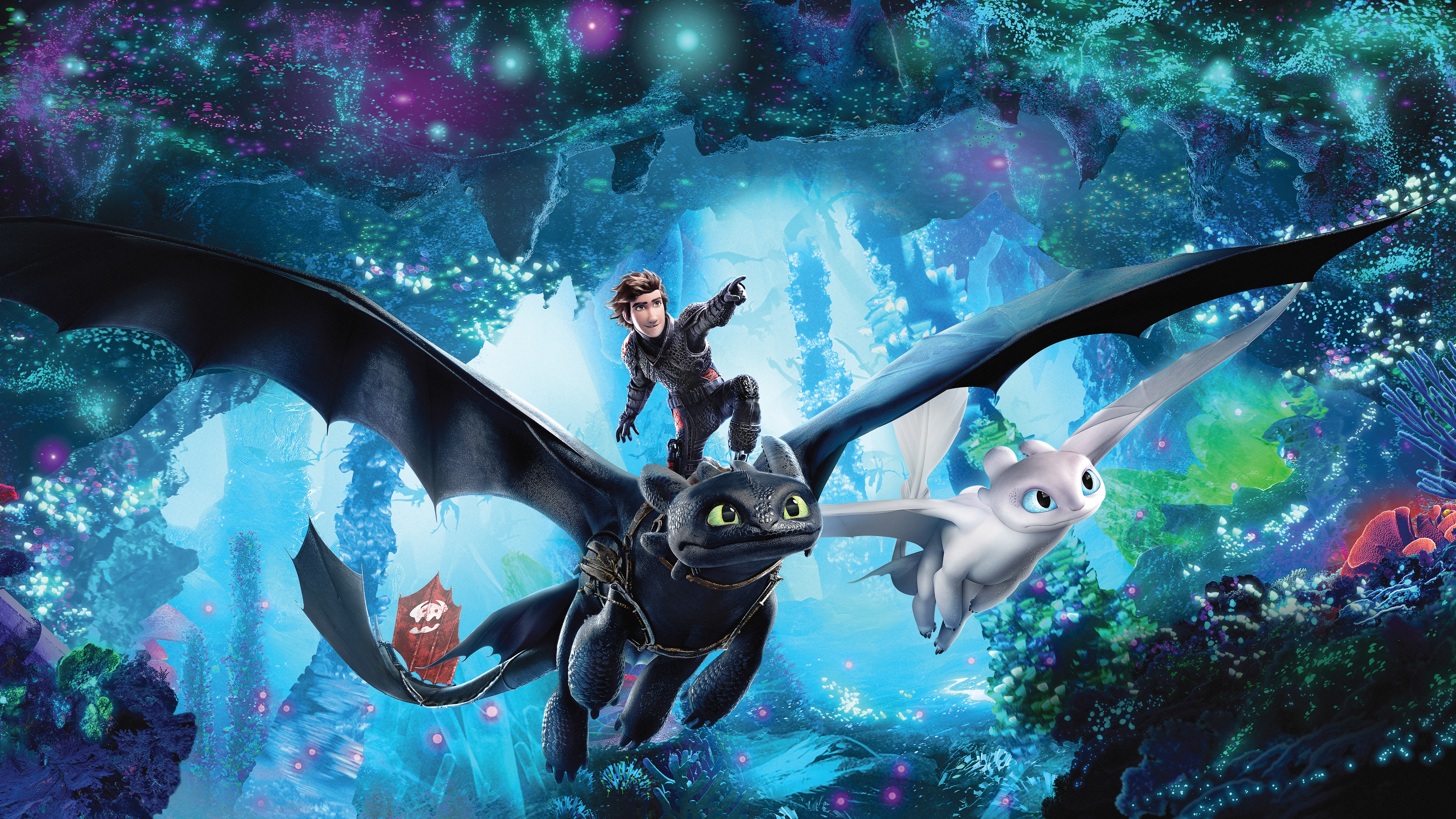 How To Train Your Dragon 3 The Hidden World 2019 4k Wallpapers Hd