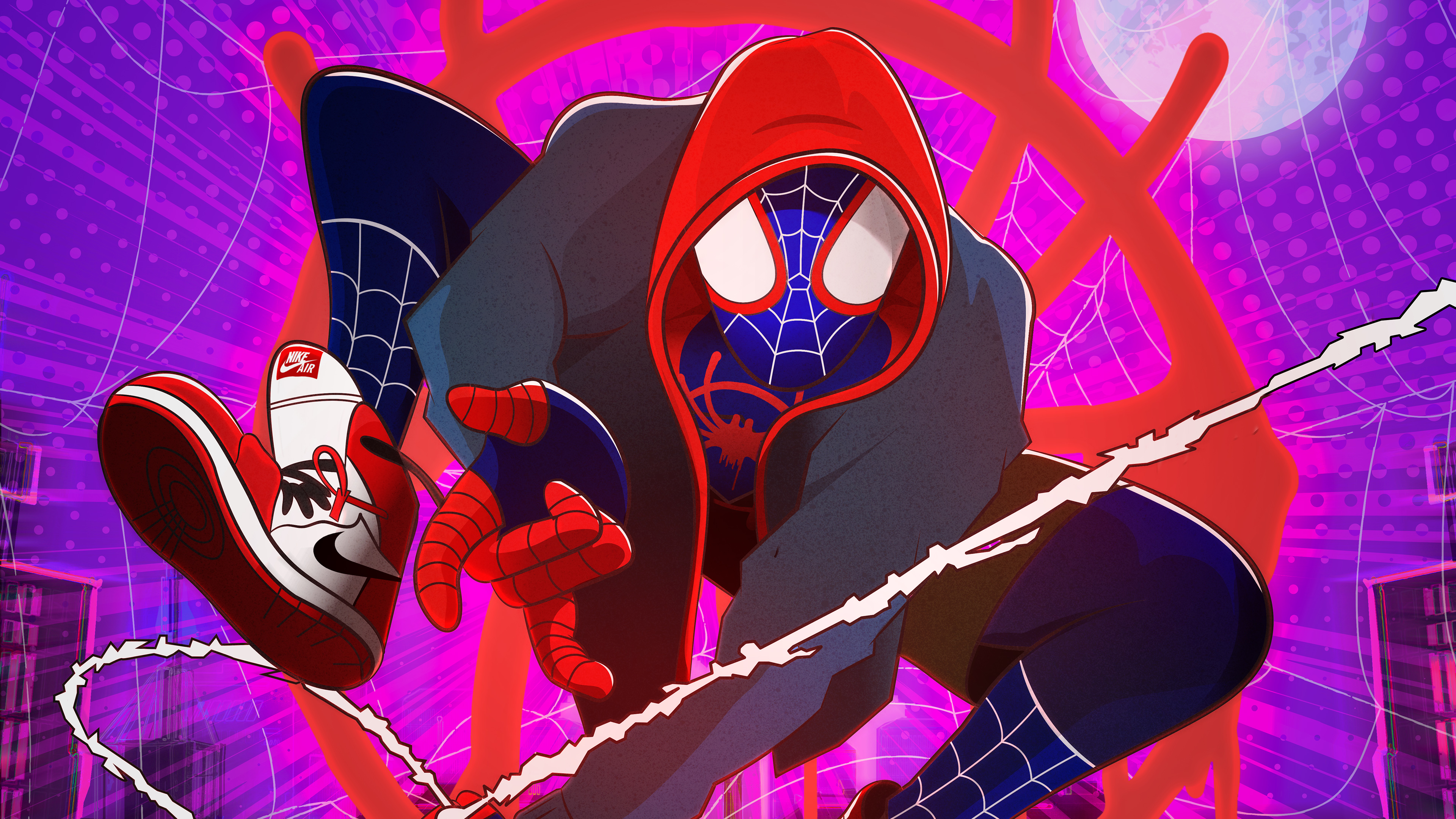 Miles Morales in Spider-Man Into the Spider-Verse Wallpapers | HD Wallpapers