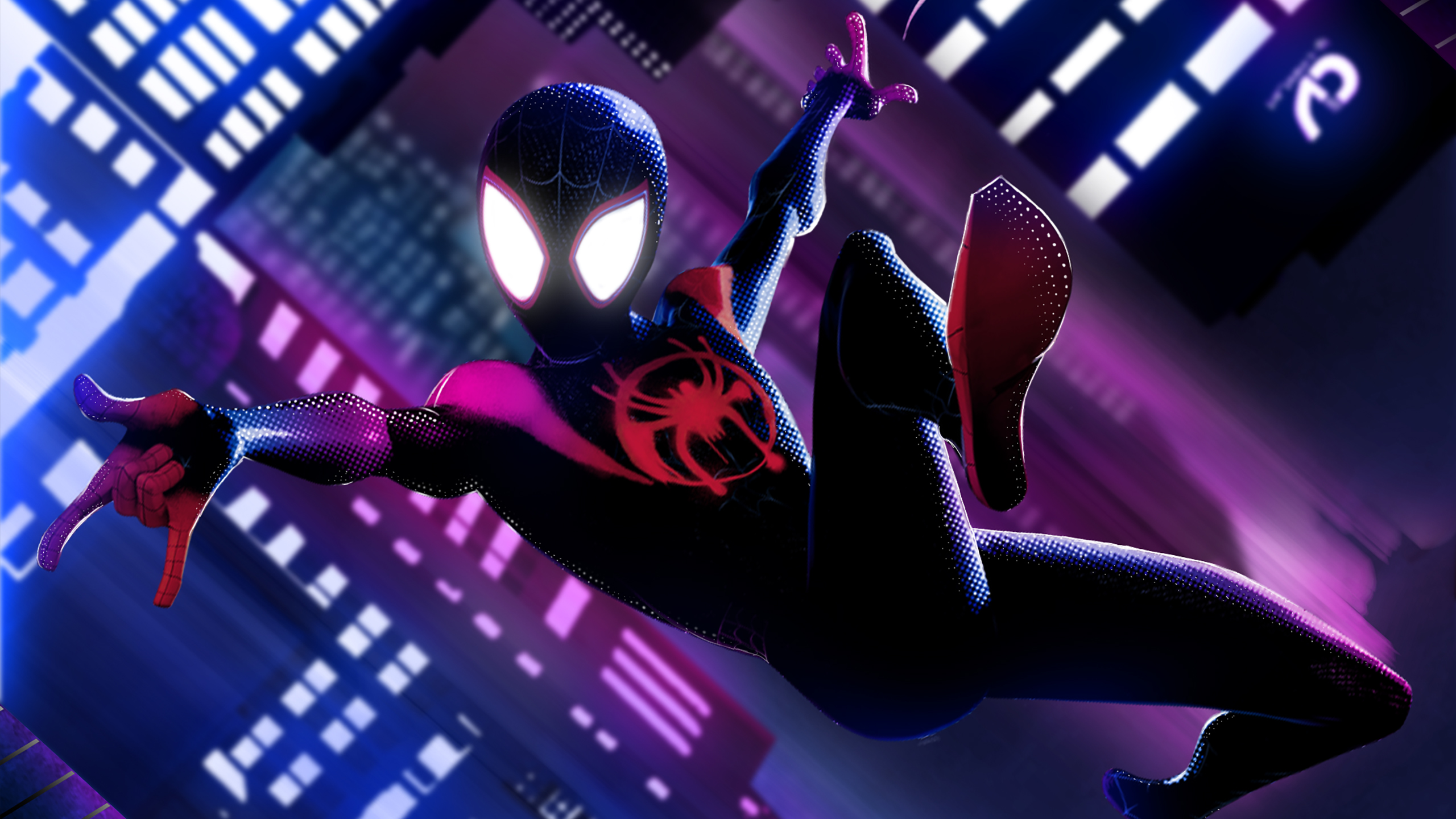 Miles Morales Spider Man Into The Spider Verse Wallpapers Hd