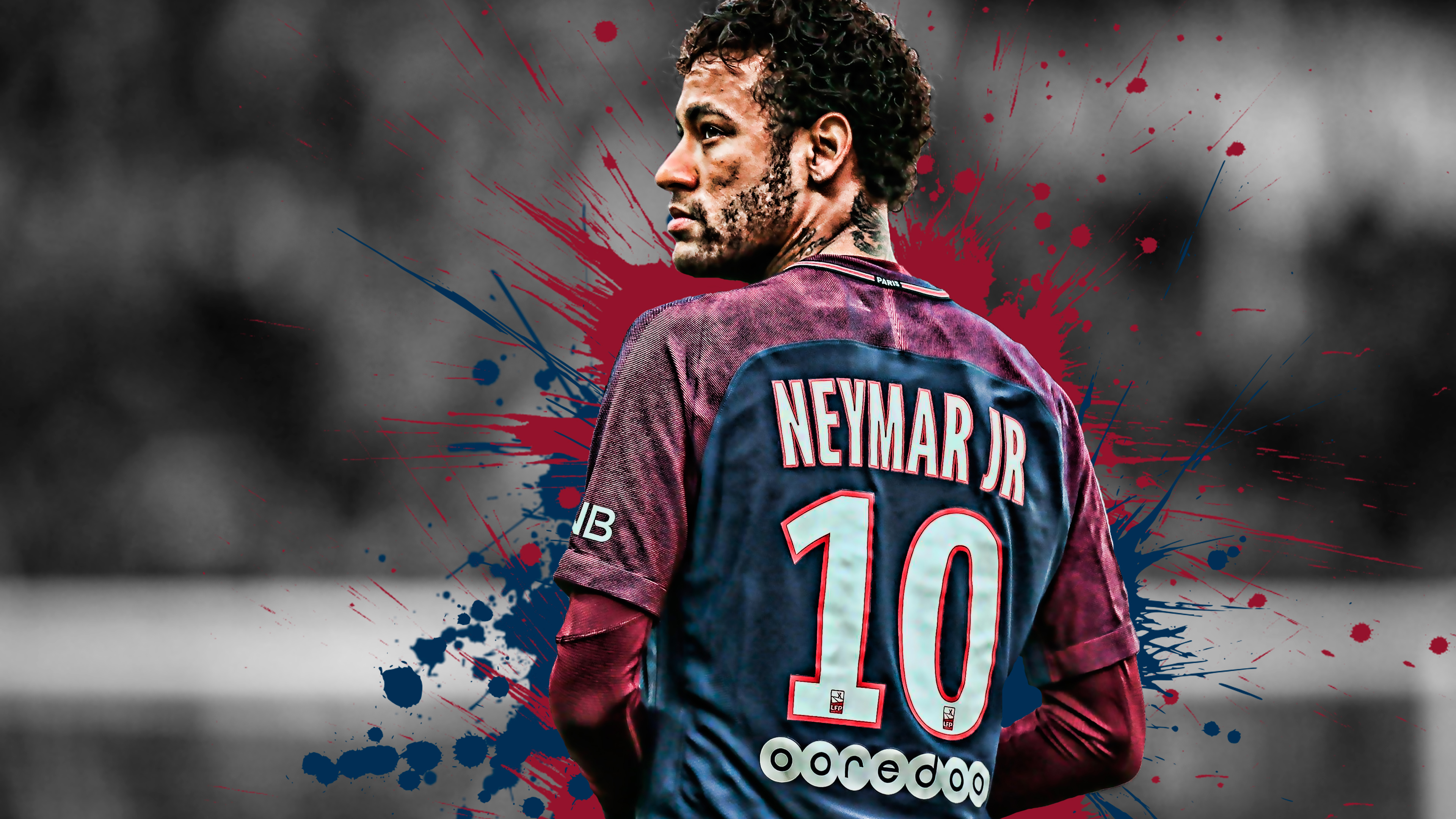 Neymar Brazilian Football Player 4k Wallpapers Hd Wallpapers