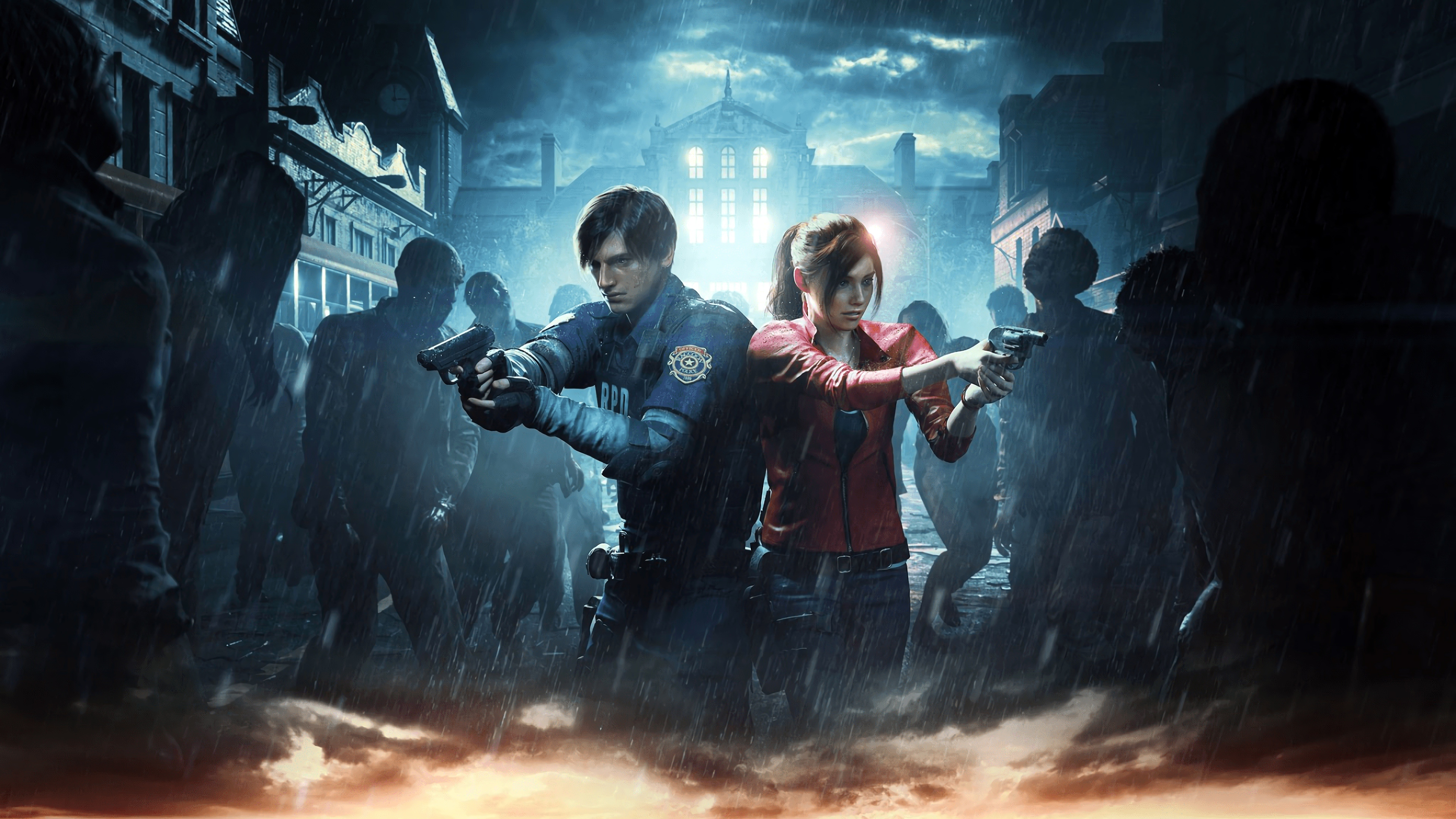 Resident Evil 2 2019 Game 4k Wallpapers Hd Wallpapers