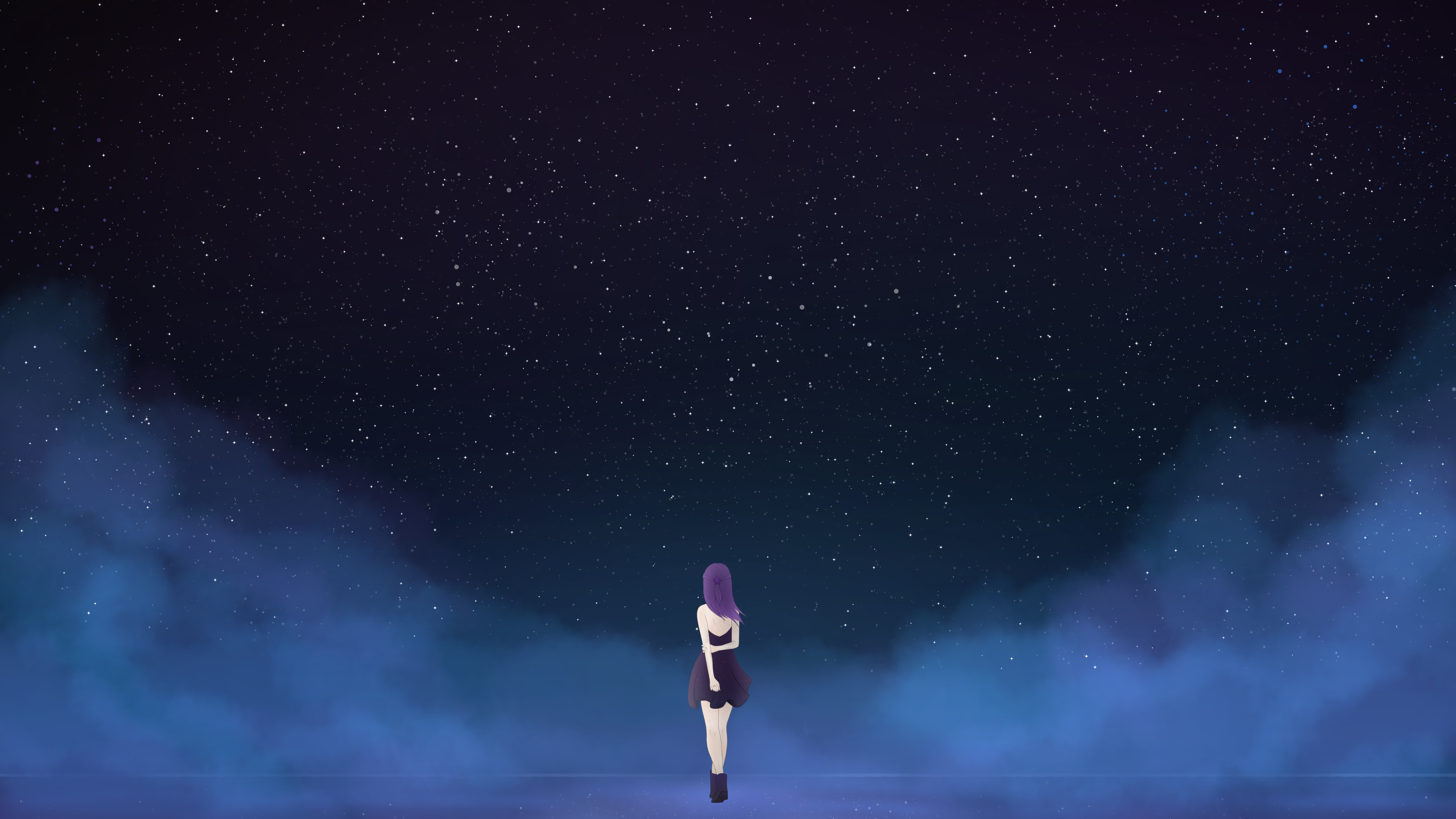 Lonely Girl Dream 4K 8K Wallpapers | HD