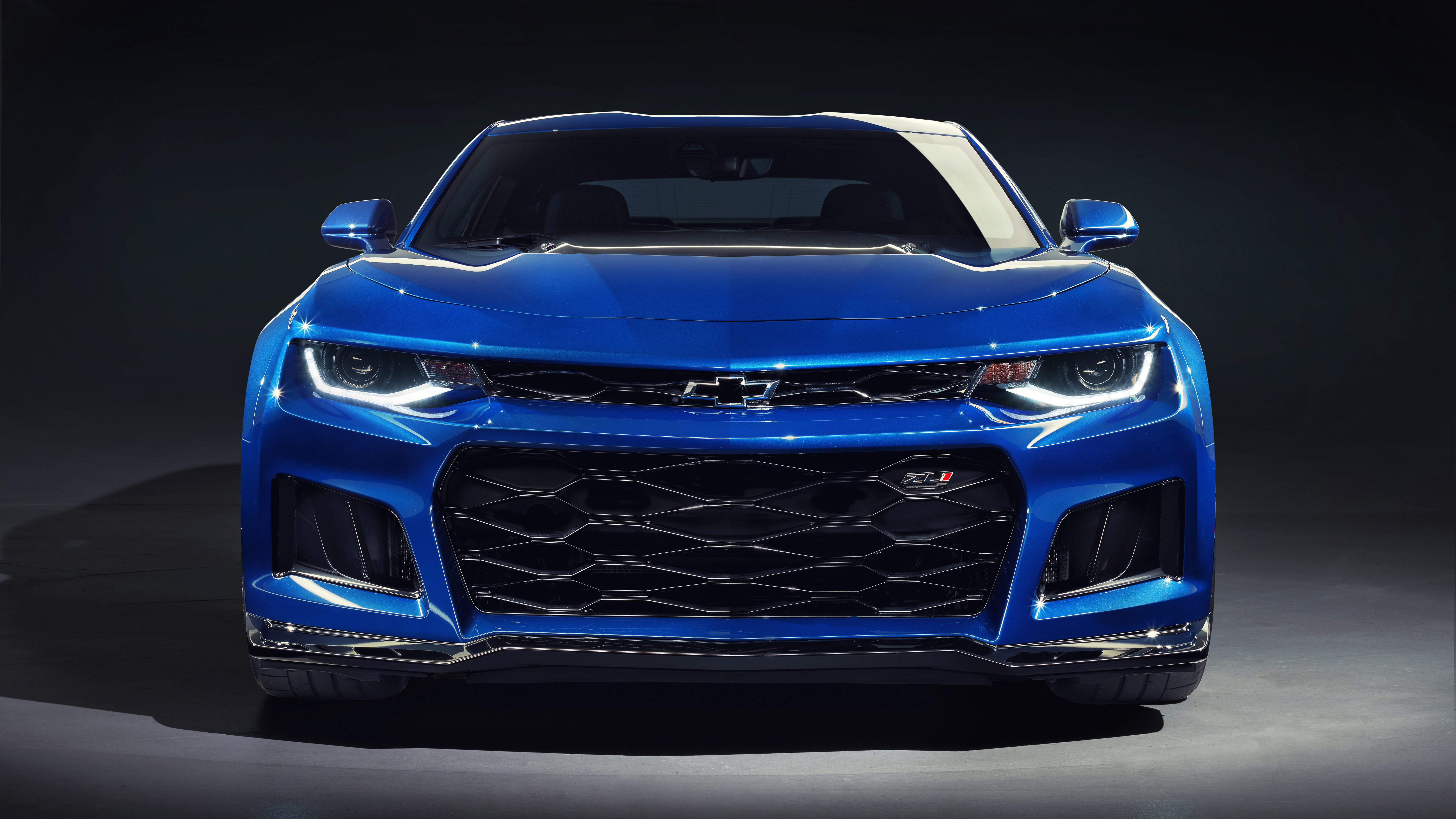 Wallpaper Chevrolet Camaro cars front view x UHD K Picture