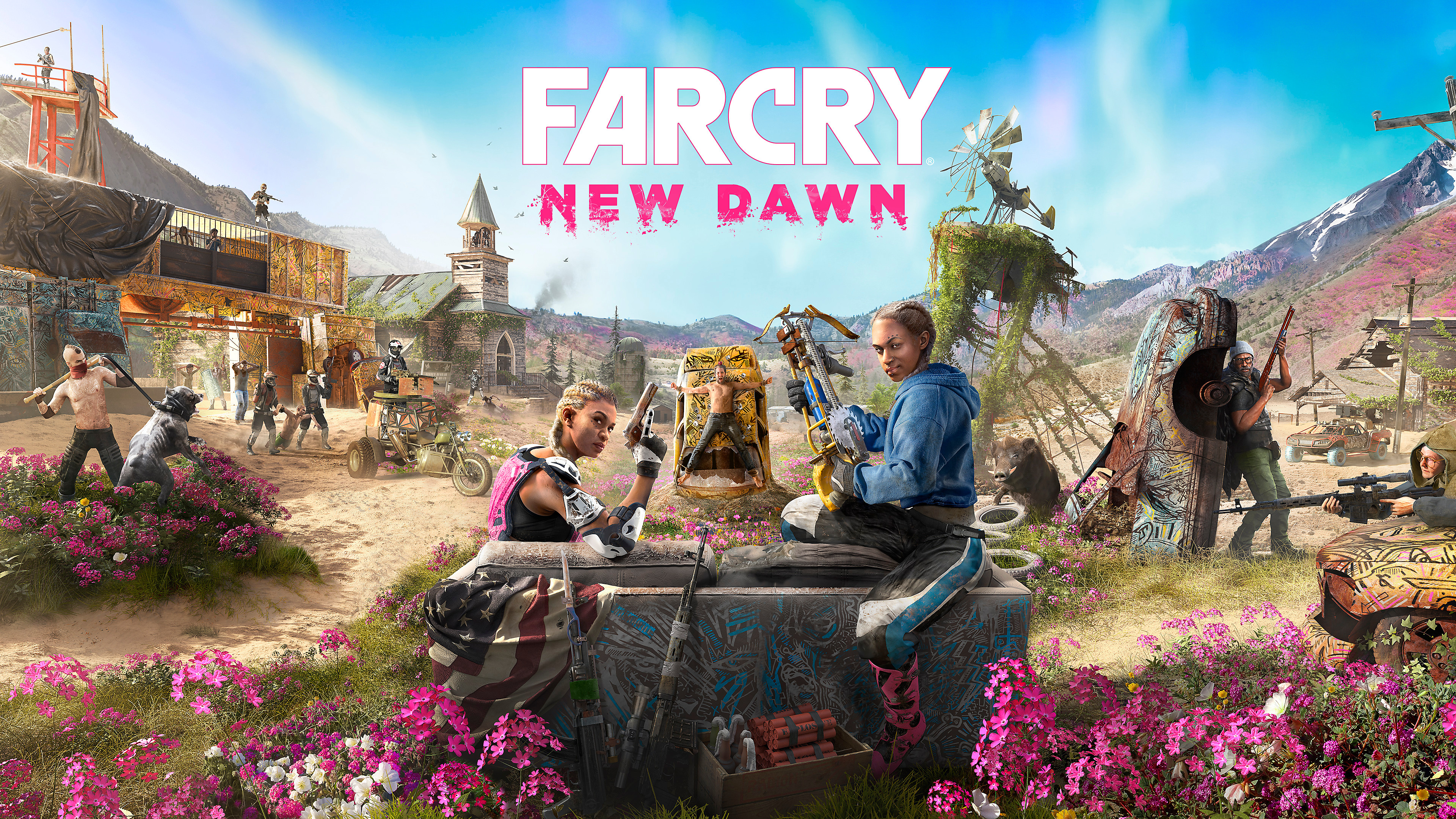 Far Cry New Dawn Cover Art 2019 Game 4k Wallpapers Hd Wallpapers