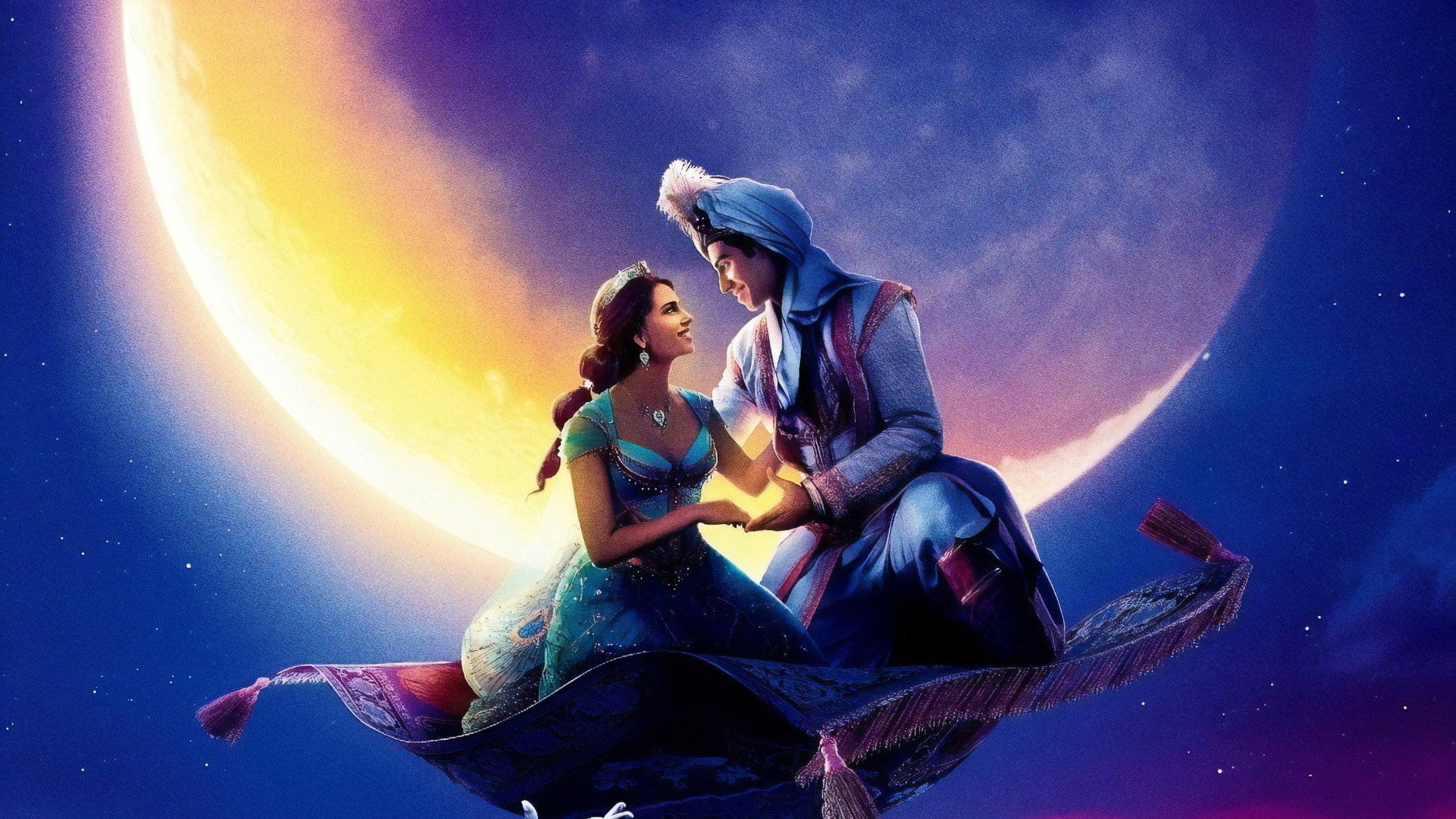 Aladdin 2019 Movie Poster Wallpapers Hd Wallpapers