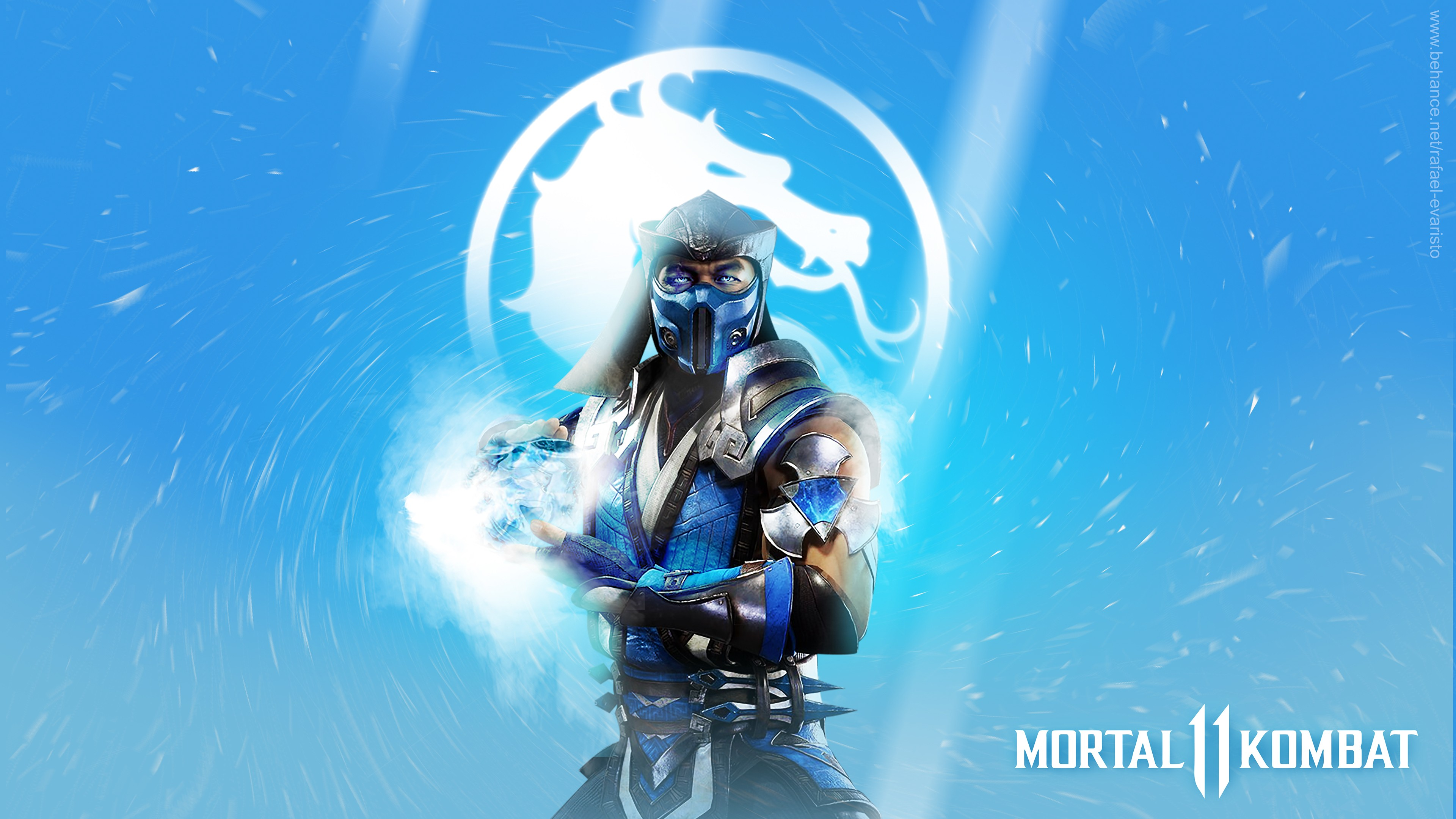 Sub Zero In Mortal Kombat 11 4k Wallpapers Hd Wallpapers