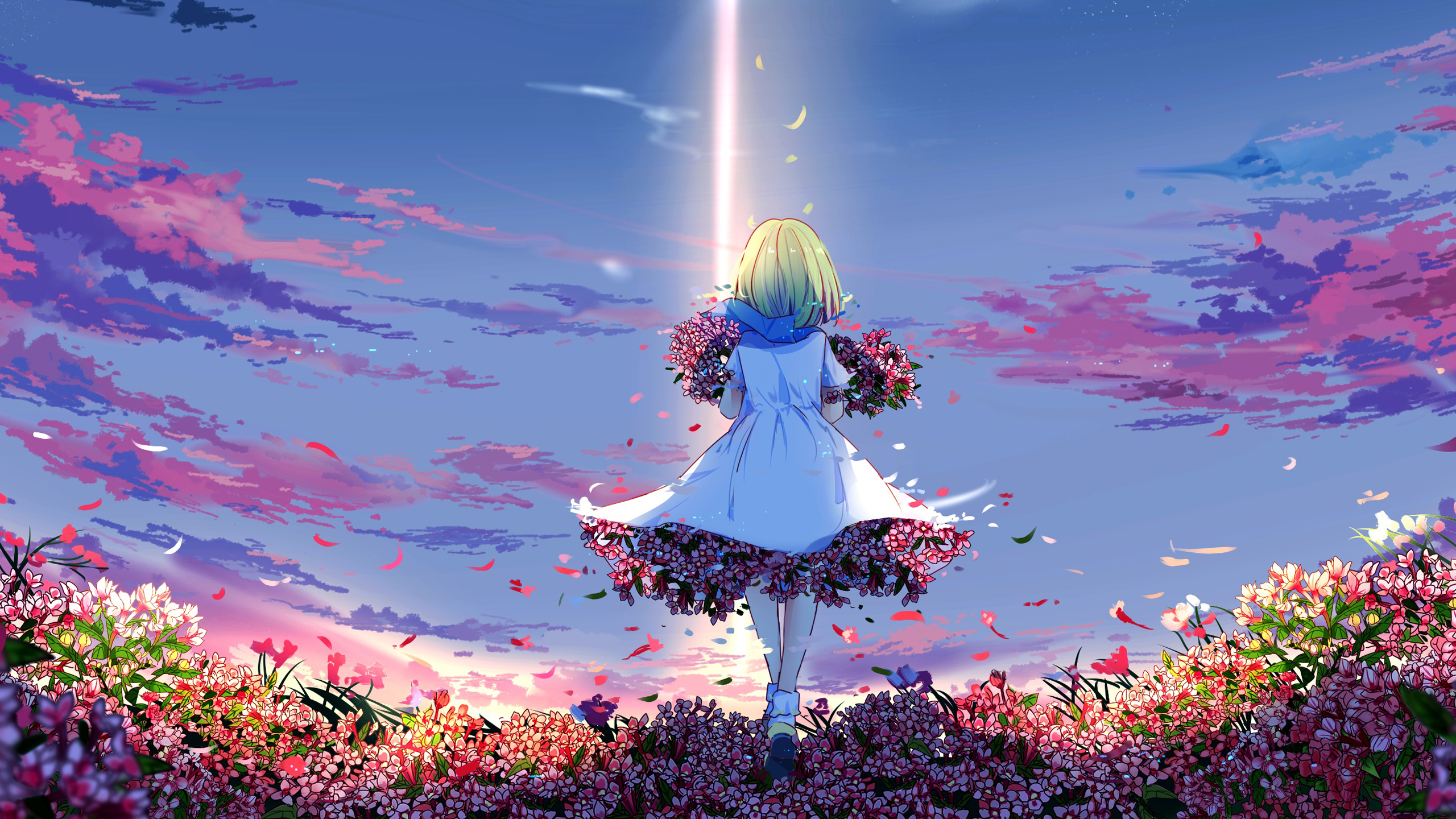 Spring Anime girl Wallpapers  HD Wallpapers