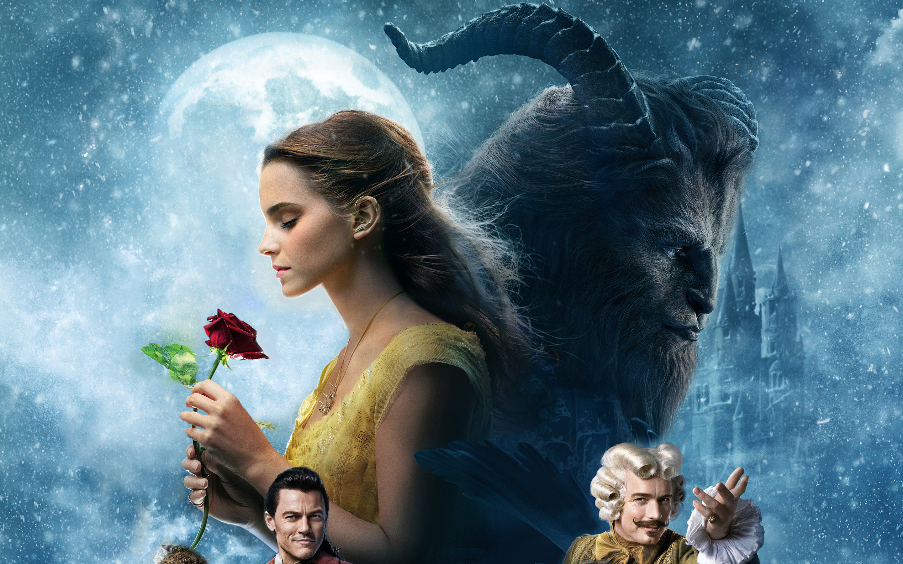 2017 Beauty And The Beast Wallpapers Hd Wallpapers