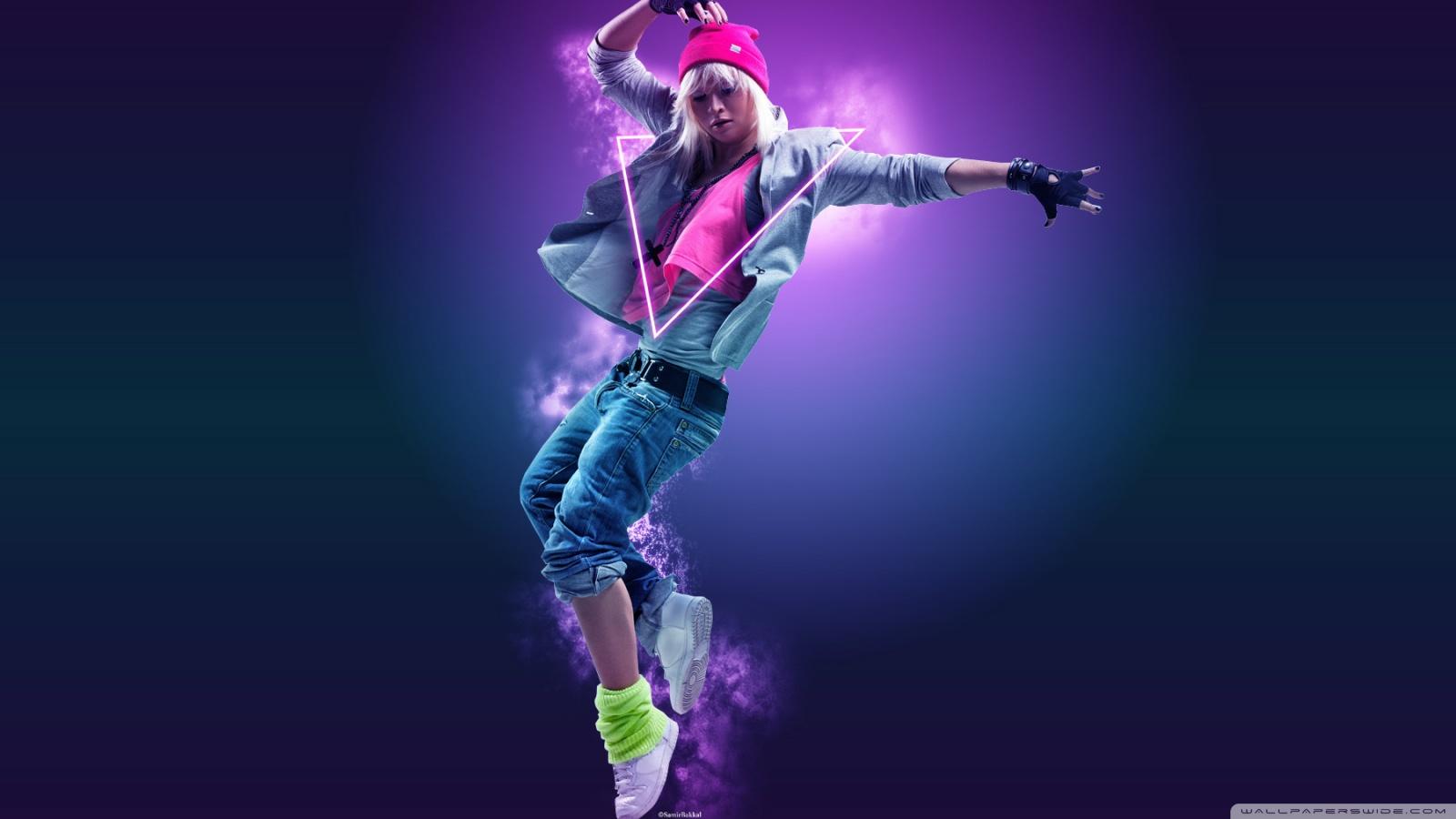 Abstract Colourful Dancer Hd Desktop Wallpaper Widescreen Hd