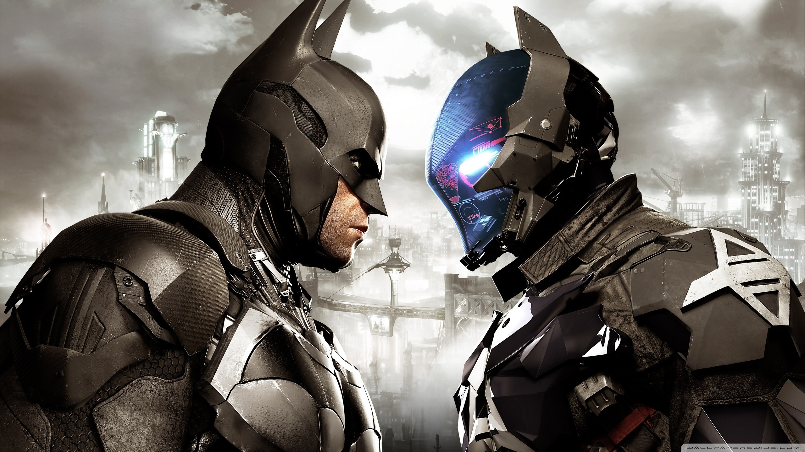 Batman Arkham Knight Hd Desktop Wallpaper Hd Wallpapers