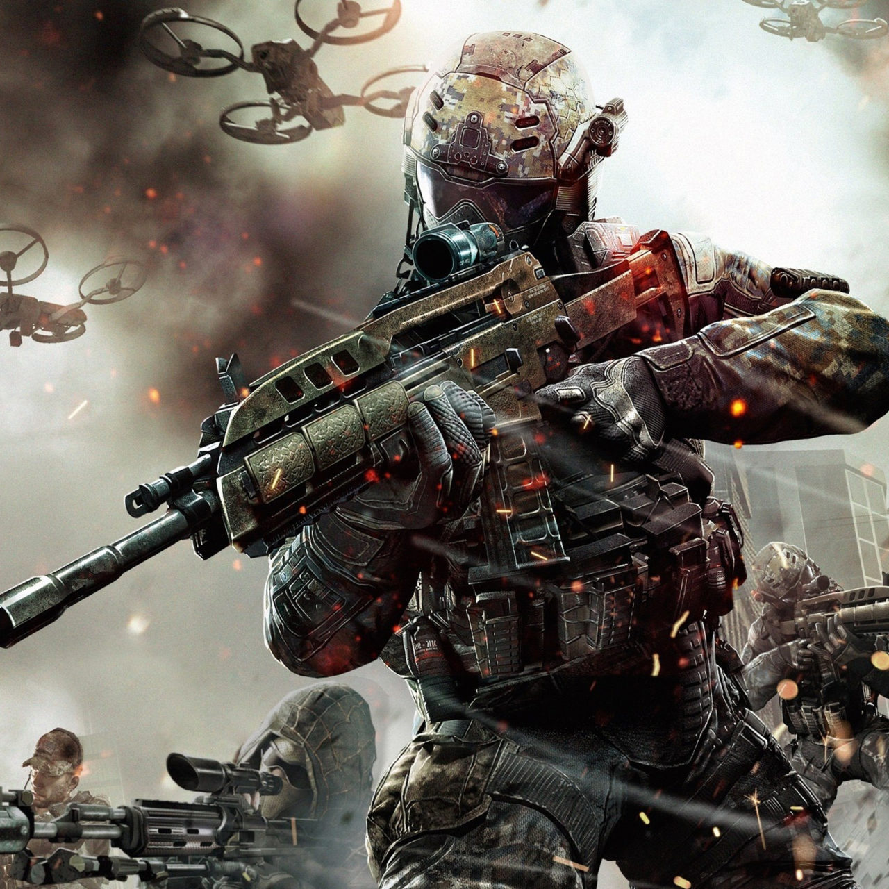 Call Of Duty Black Ops 2 Game 2013 Wallpapers Hd Wallpapers