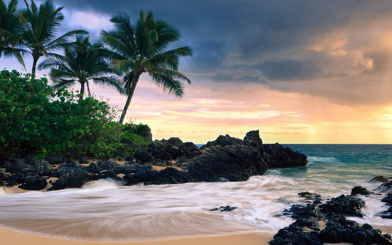 Hawaiian Island HD Desktop Wallpaper for K Ultra HD TV Wide