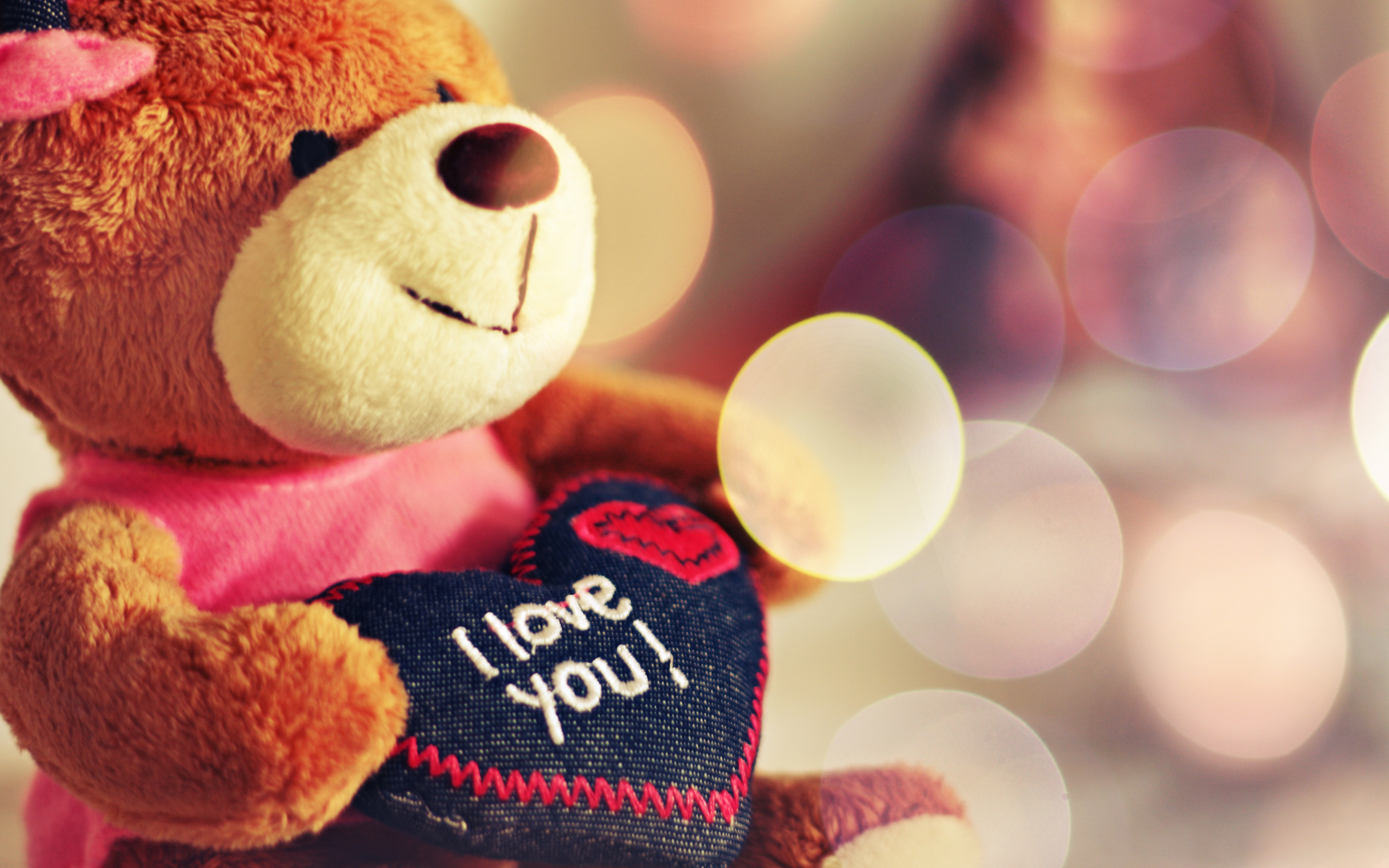 I Love You Teddy Bear Hd Wallpapers Hd Wallpapers