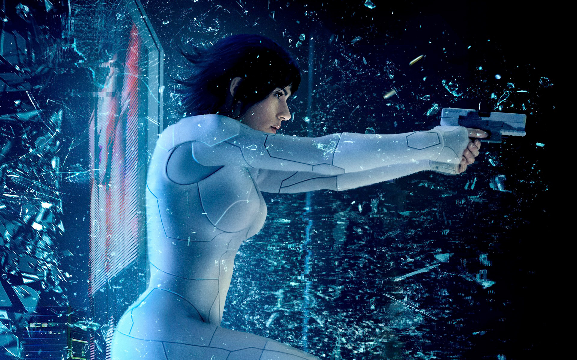 Scarlett Johansson Ghost In The Shell Wallpapers Hd Wallpapers
